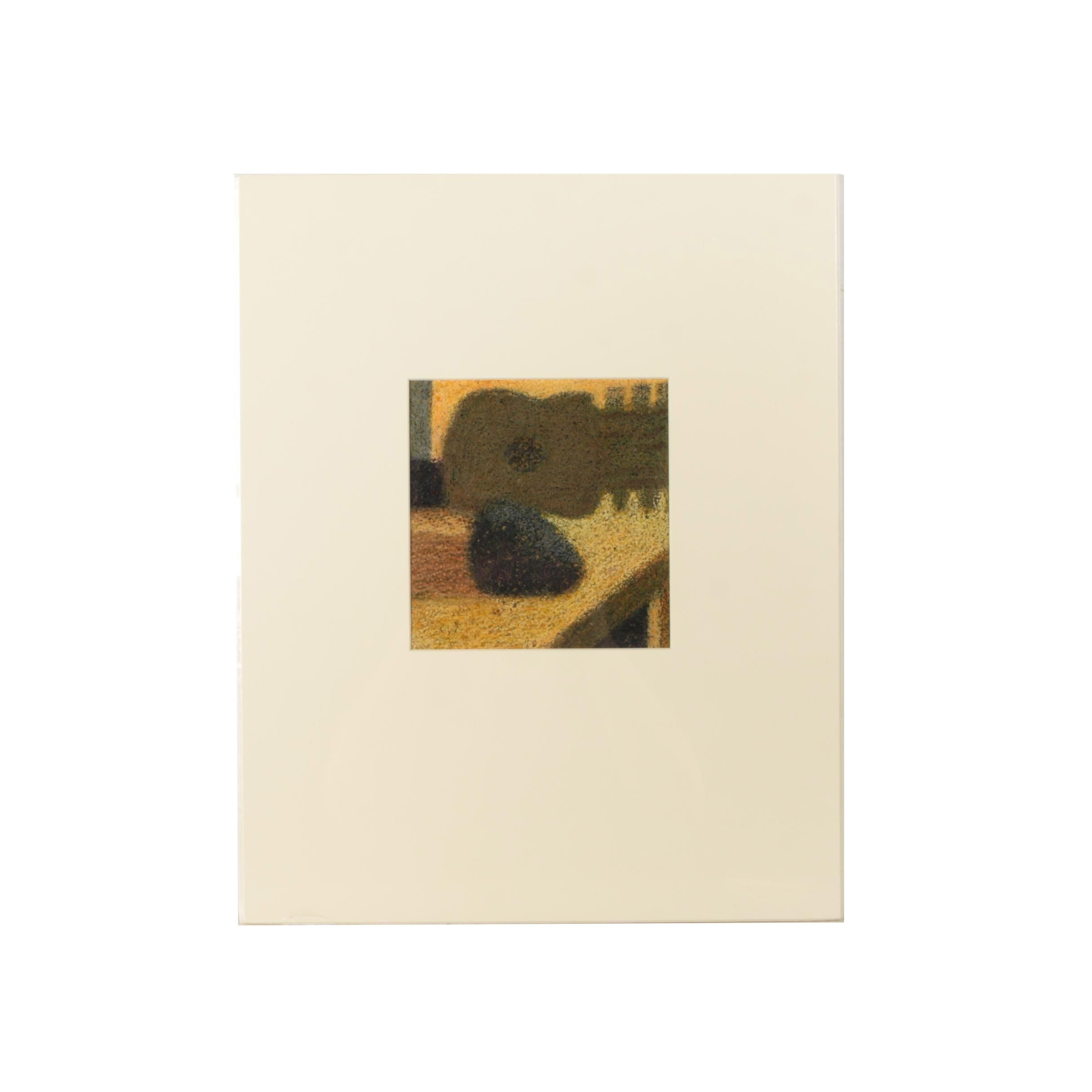 "Edgar Hatten Oil Painting on Paper ""Still Things"""