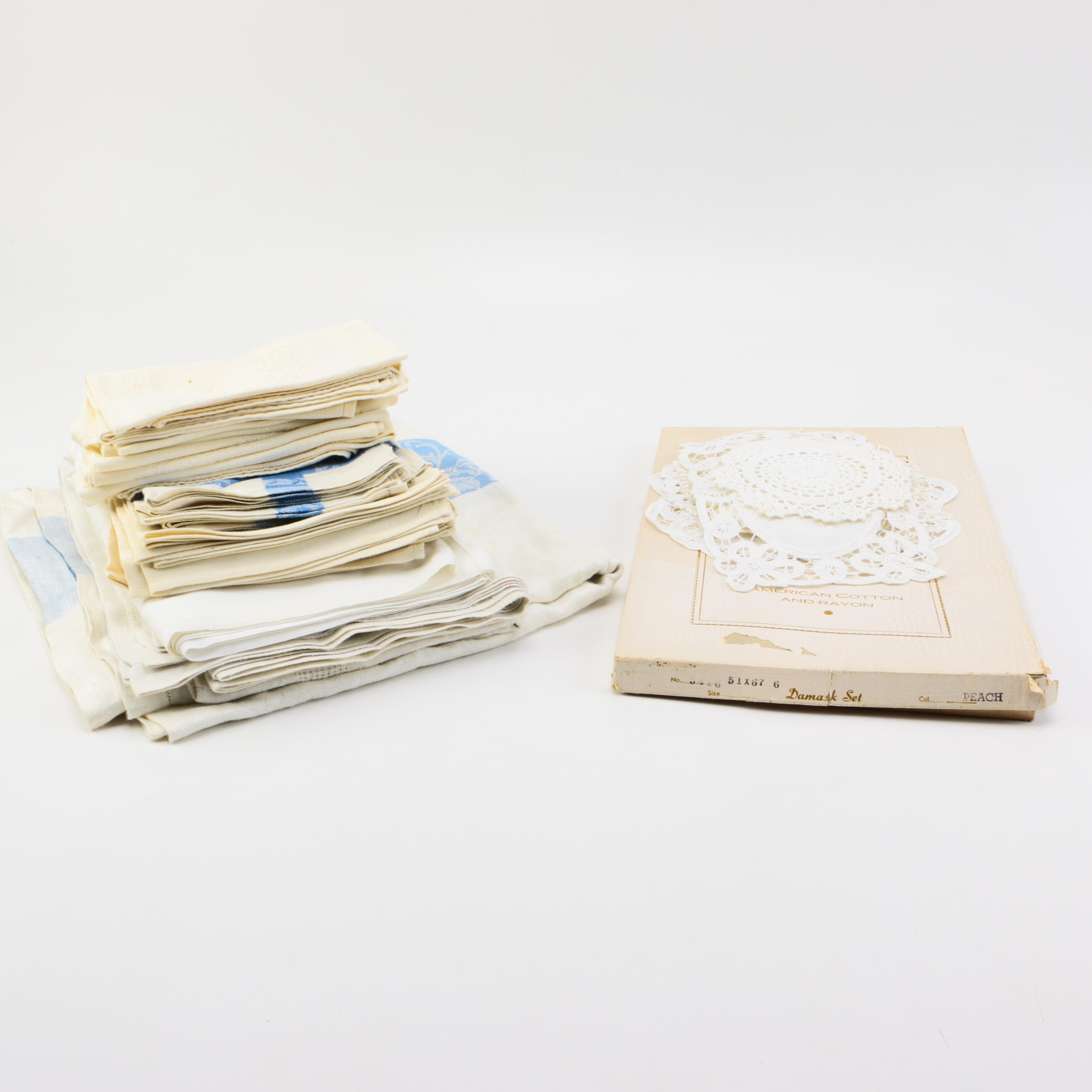 Table Linens and Doilies