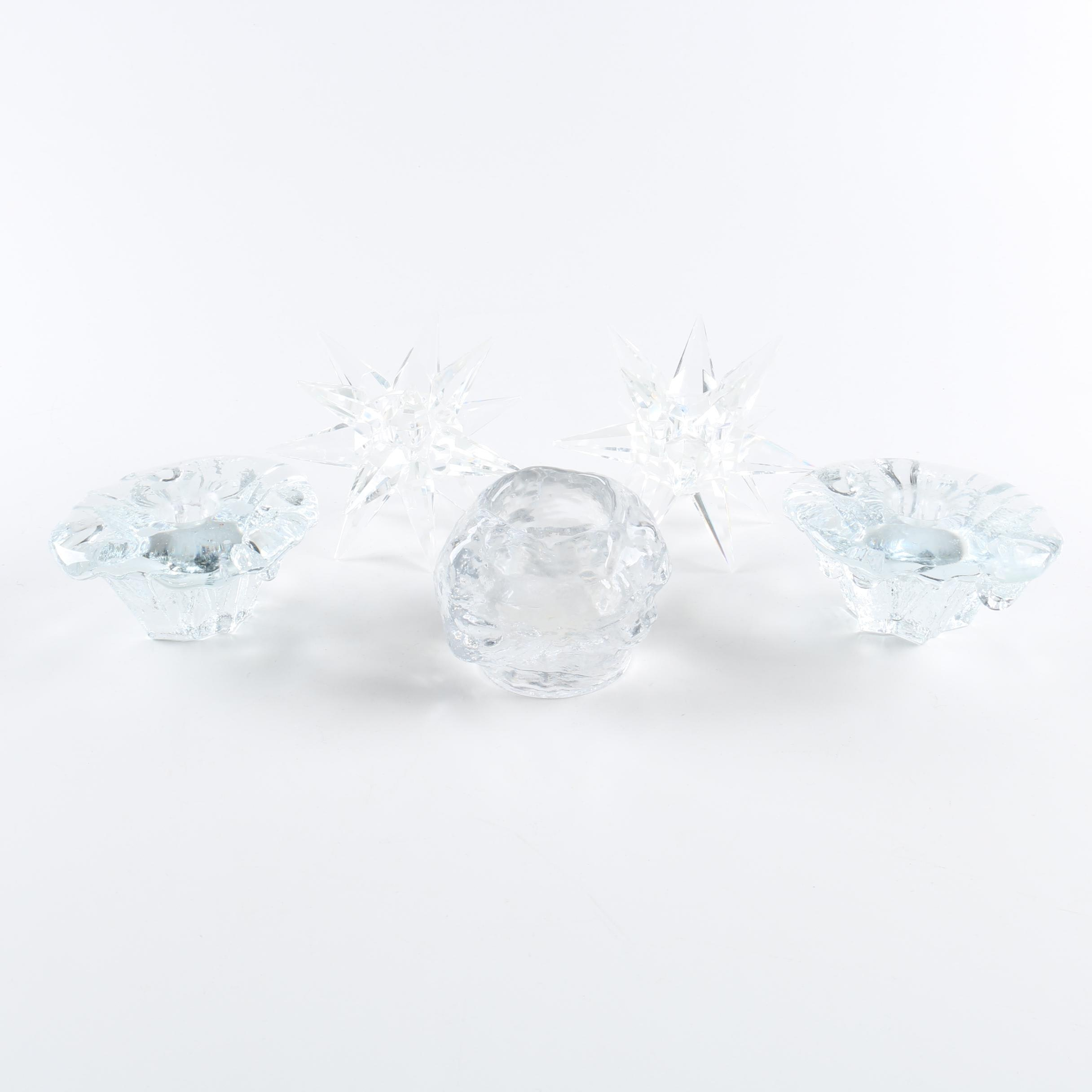 Votive Candle Holders Featuring Towle Crystal
