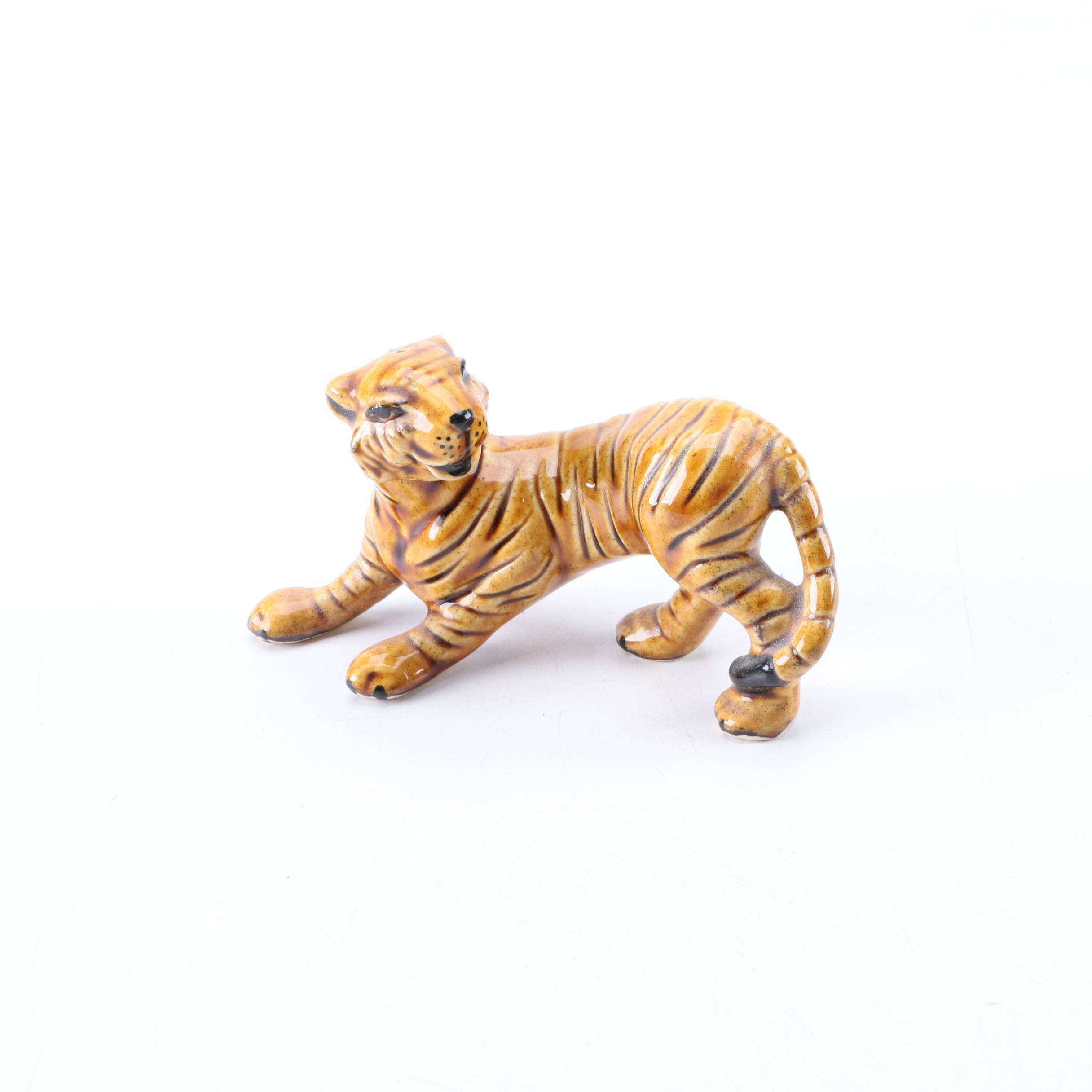 Ceramic Arts Studio Tiger Condiment Shaker