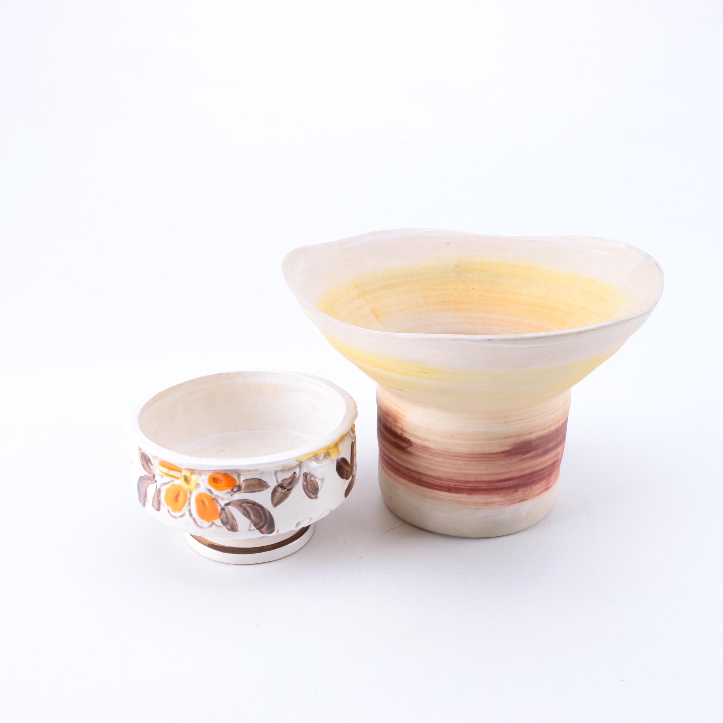 Haeger and Napcoware Bowls