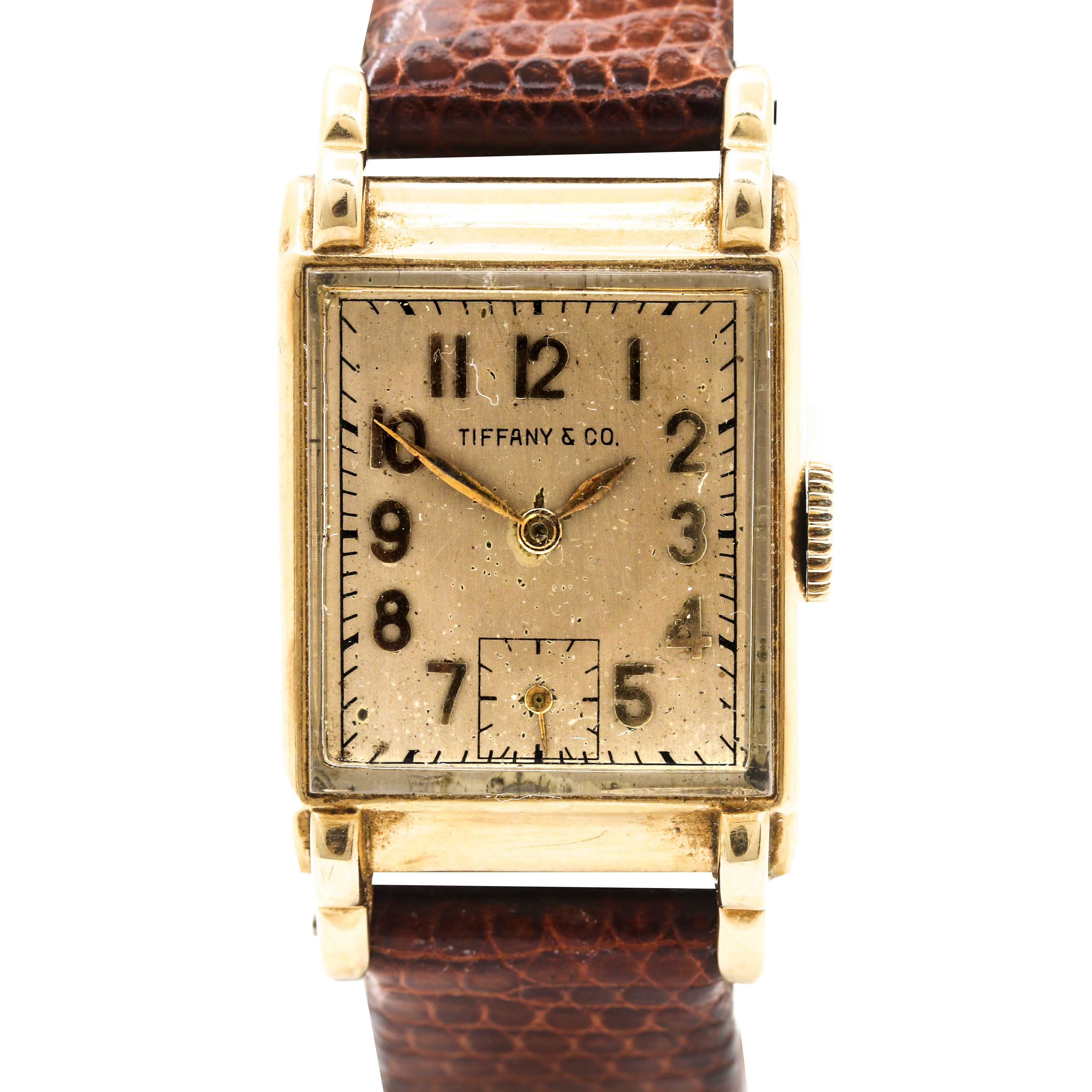 Tiffany & Co. 14K Yellow Gold Wristwatch