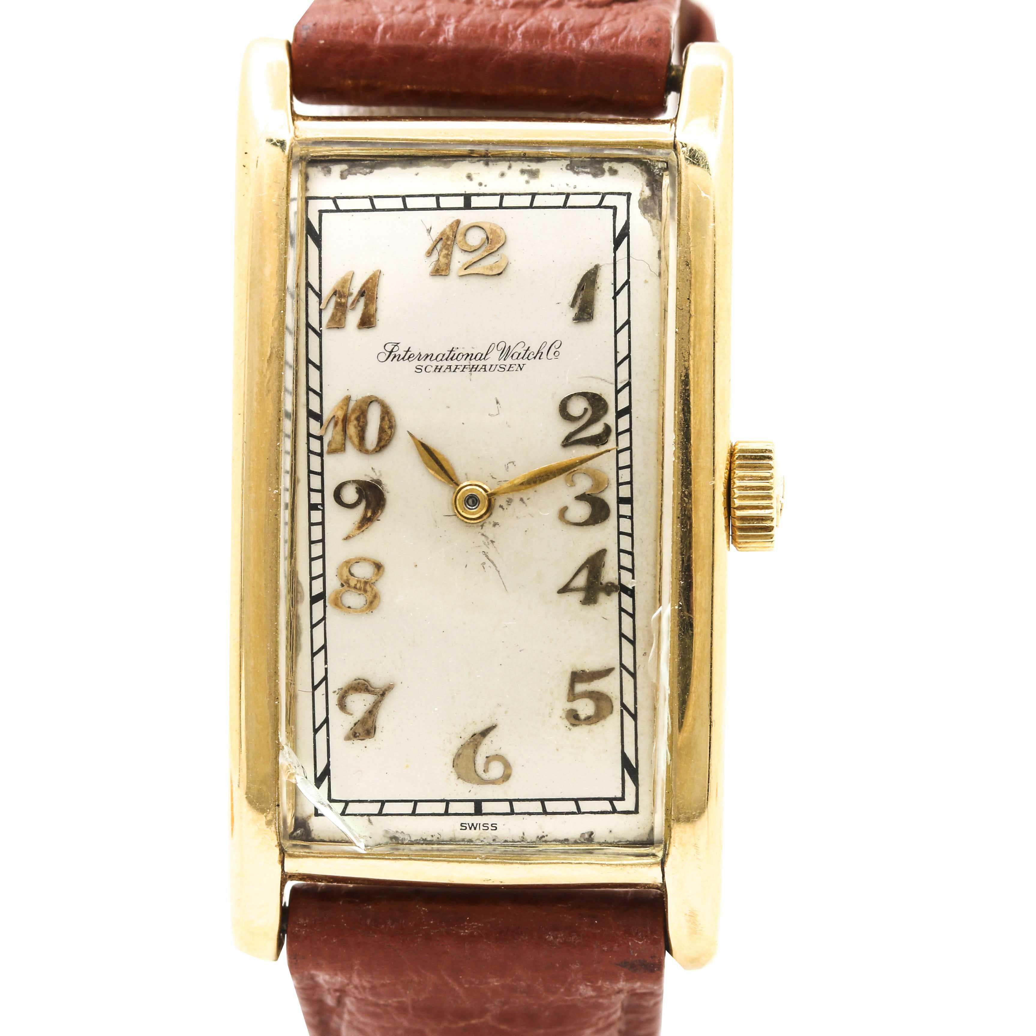 International Watch Co. 18K Yellow Gold Wristwatch