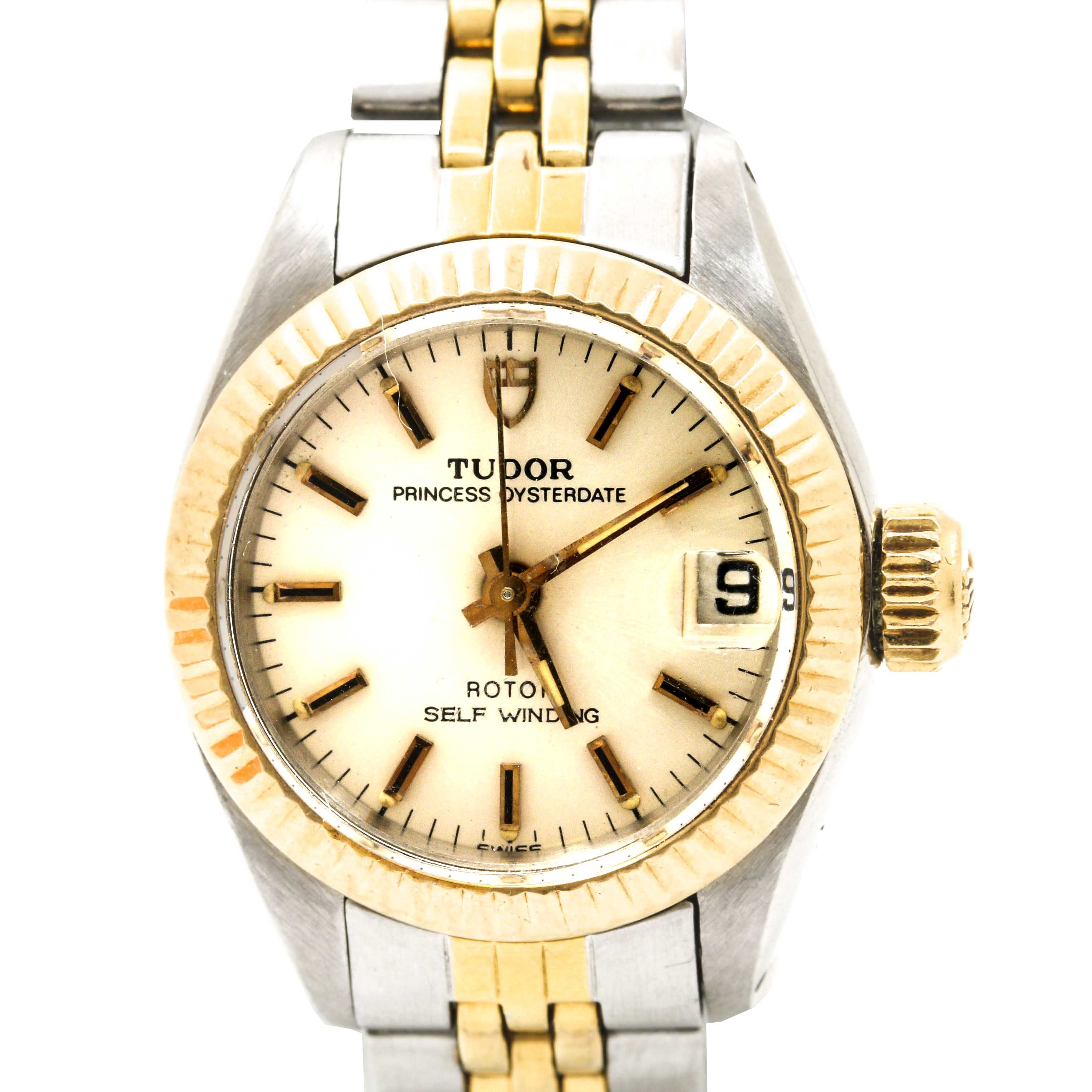 Tudor Two-Tone Wristwatch