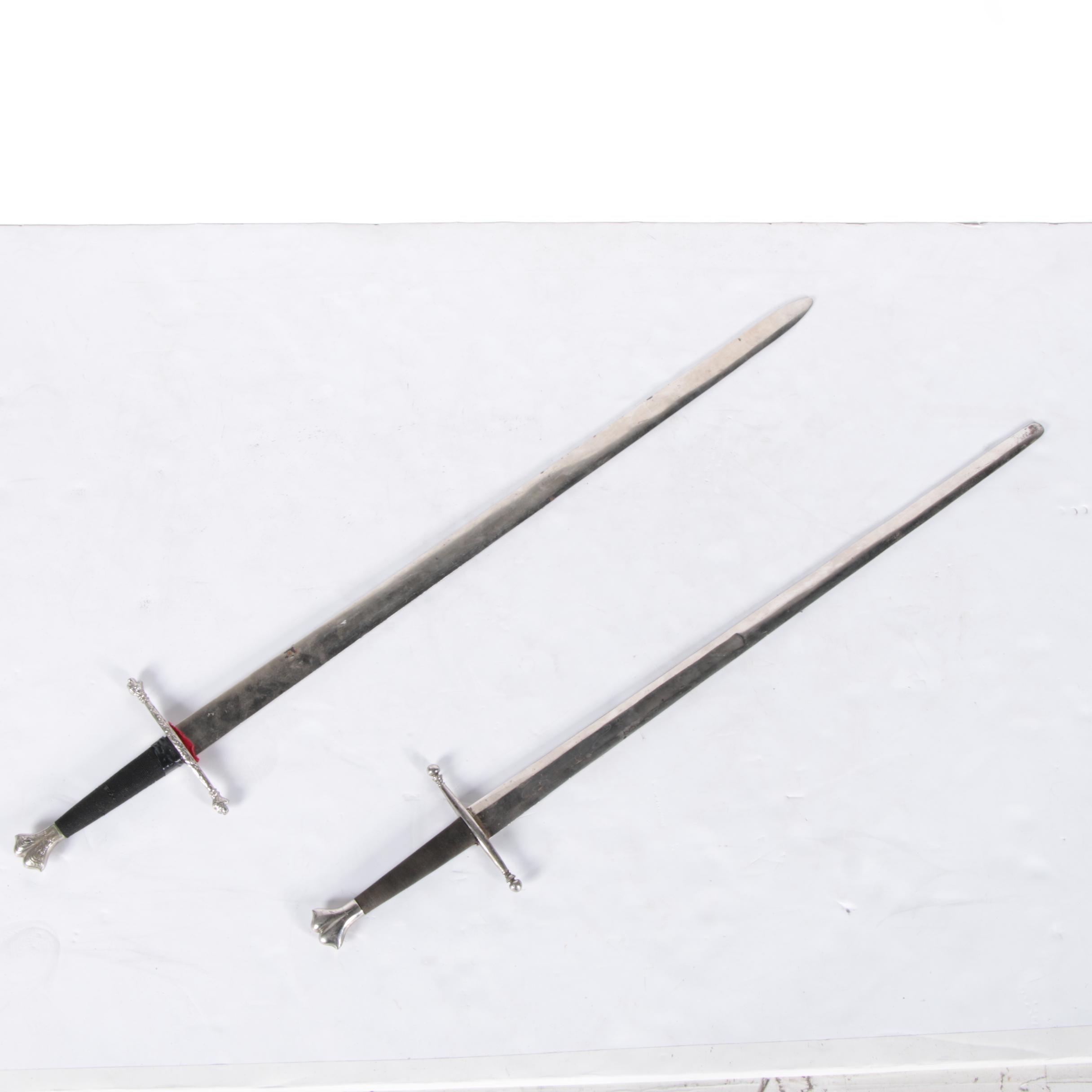Replica type XVIII Knightly Swords