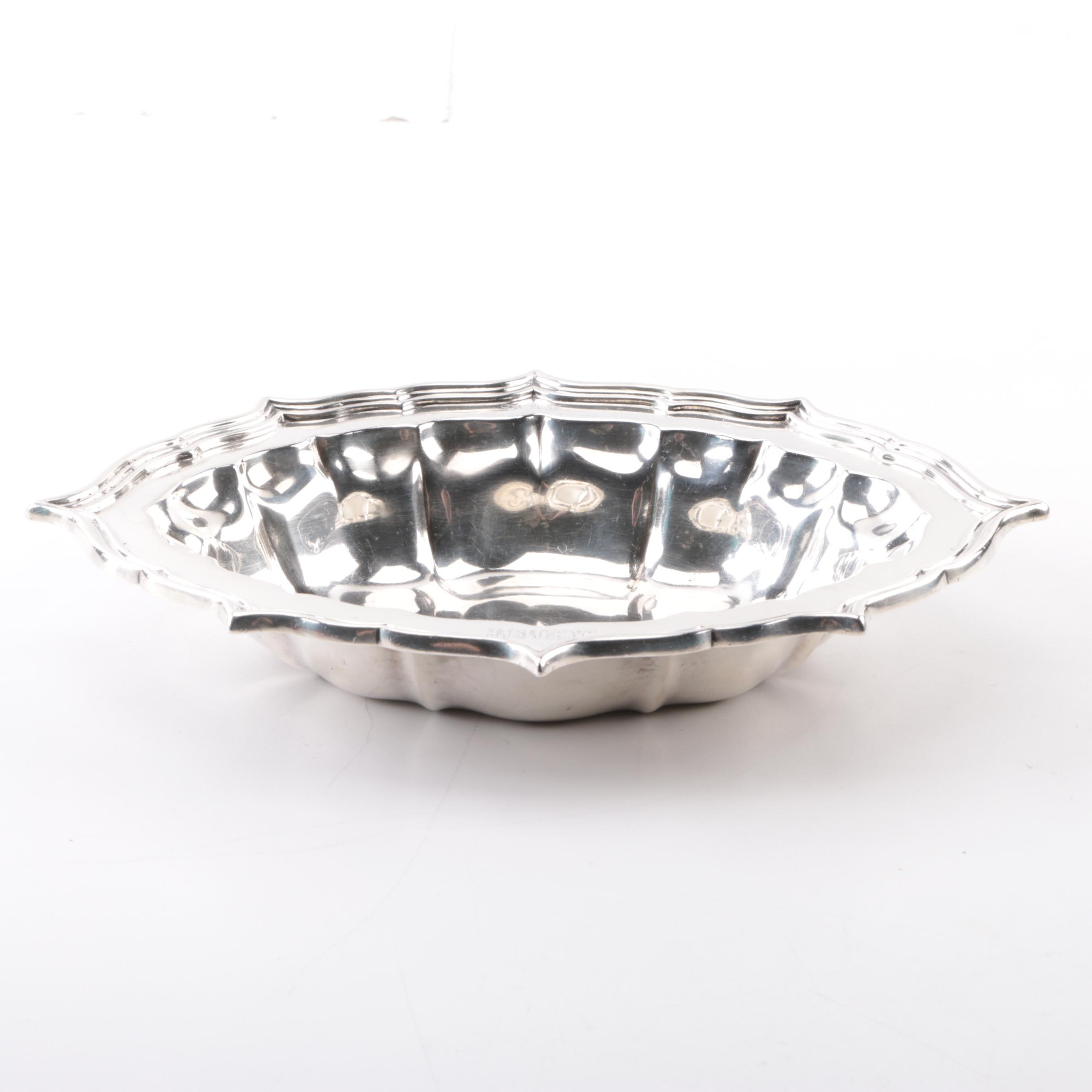 J.E. Caldwell & Co. Sterling Silver Vegetable Bowl
