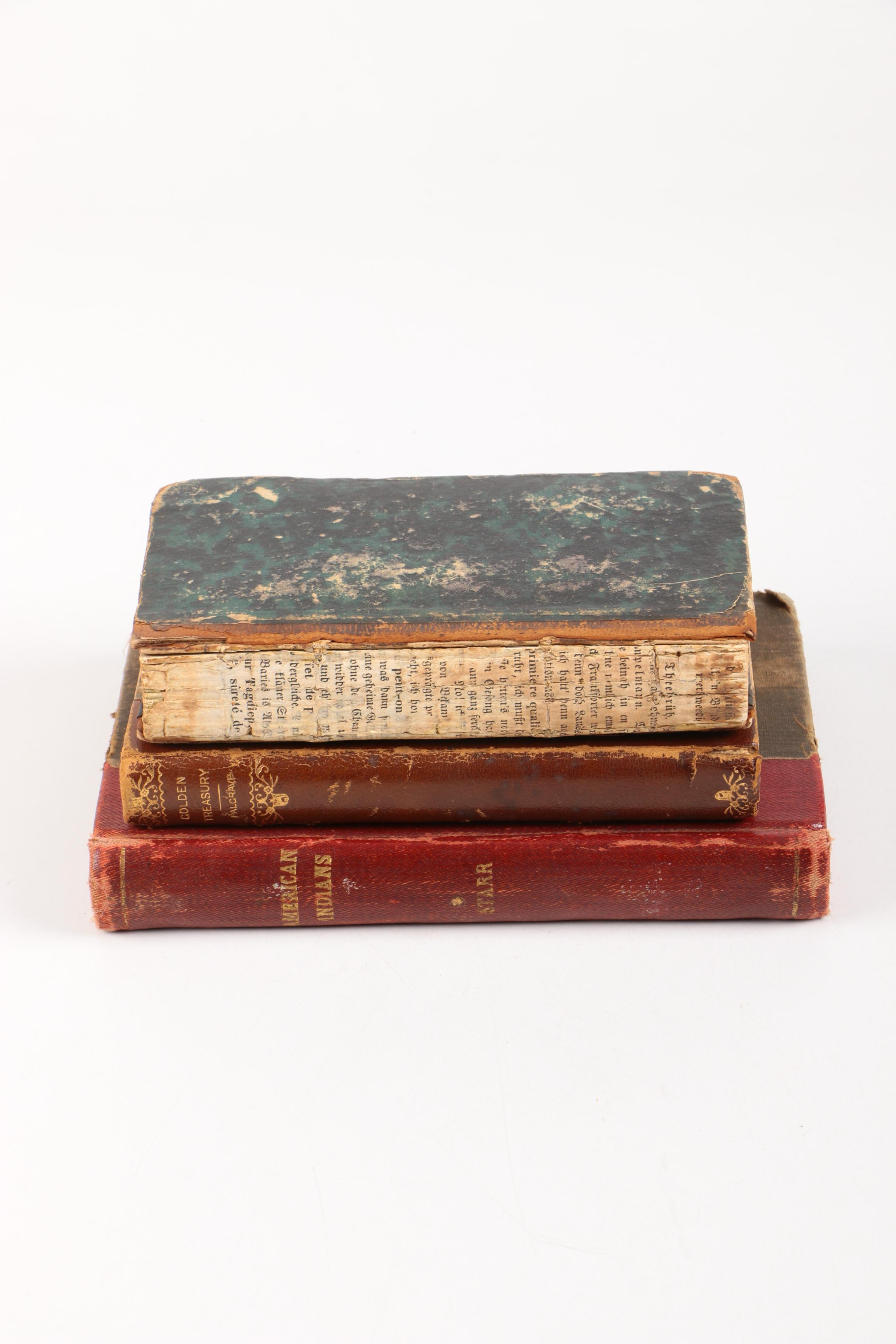 Assorted Antique Hardcover Books