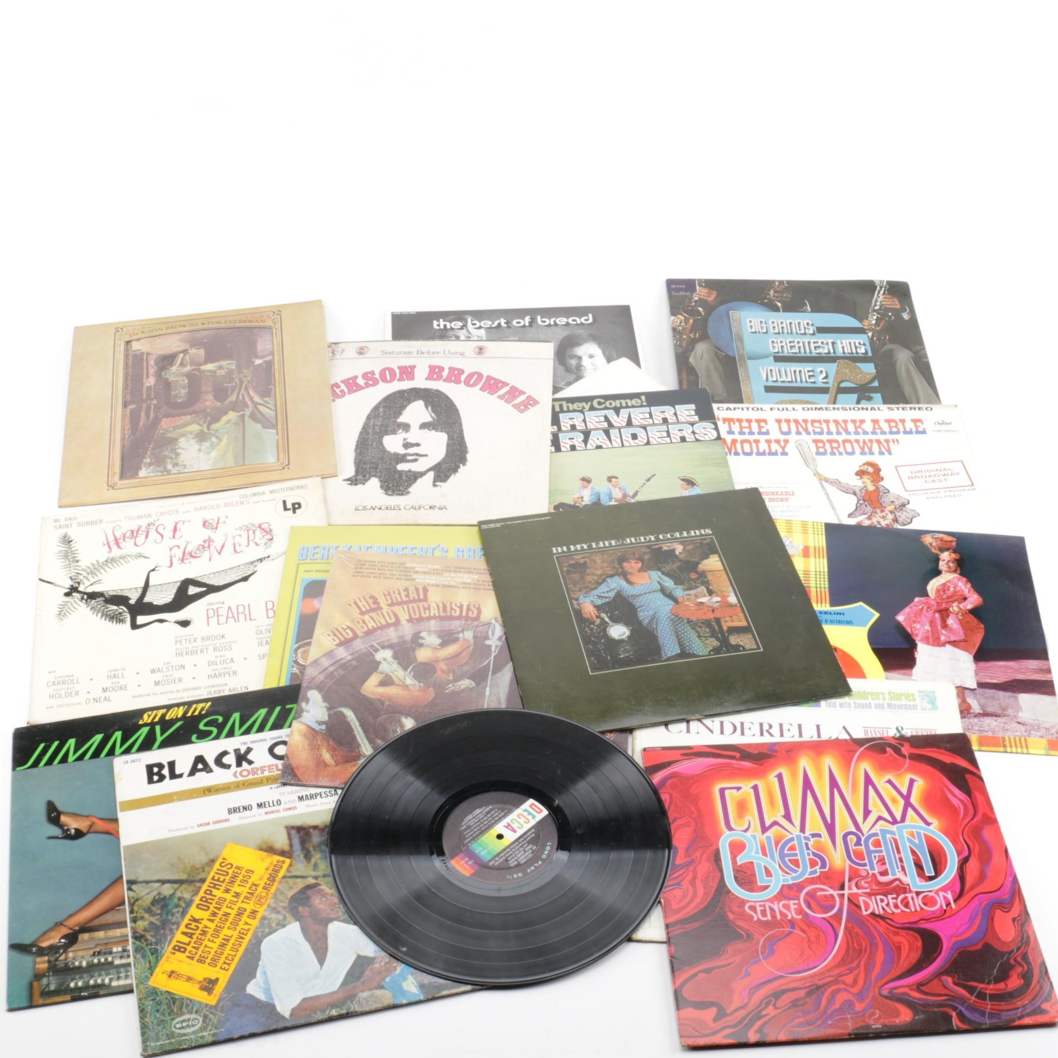 Jimmy Smith, Jackson Browne and Other Vintage LPs
