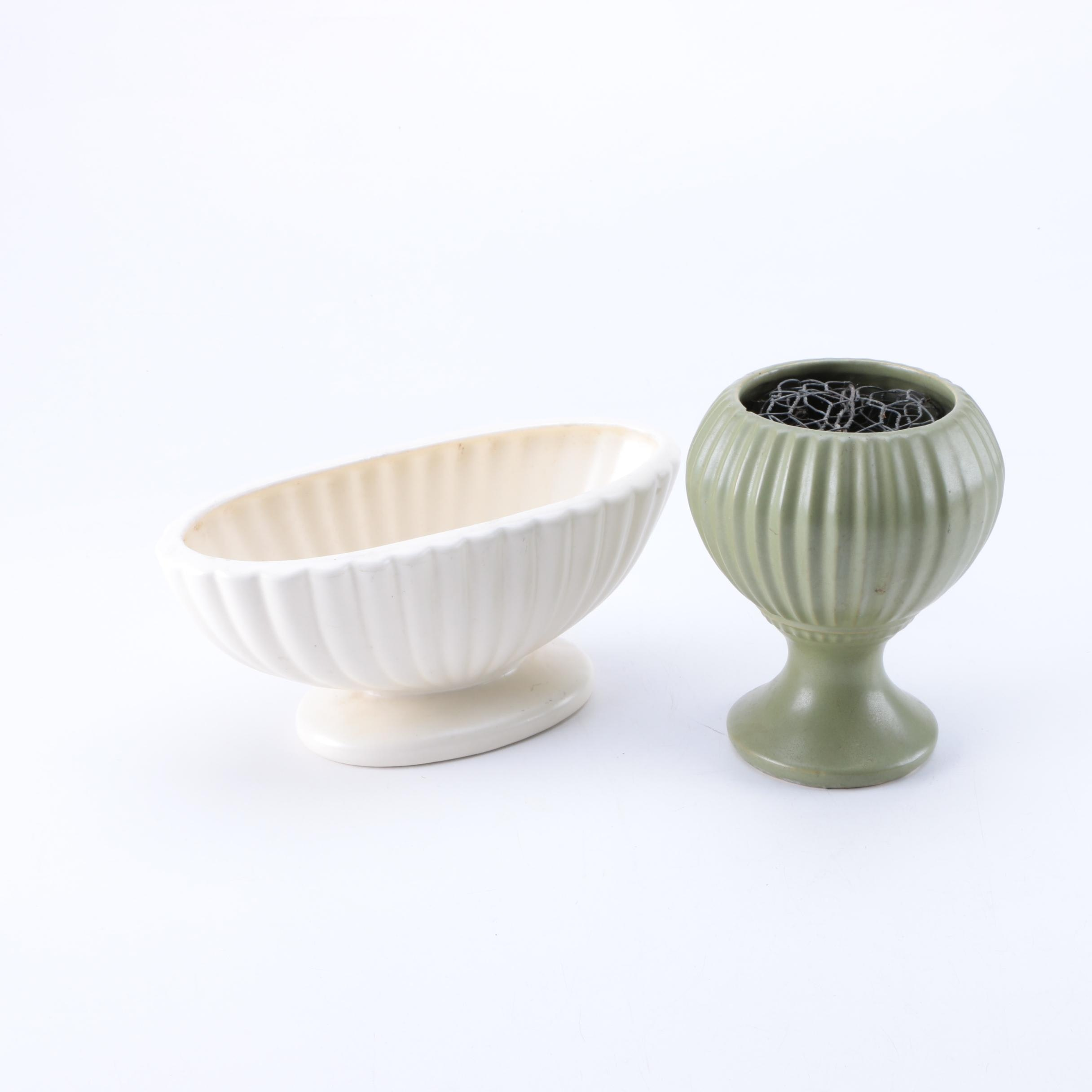 Pairing of Two Vintage Planters