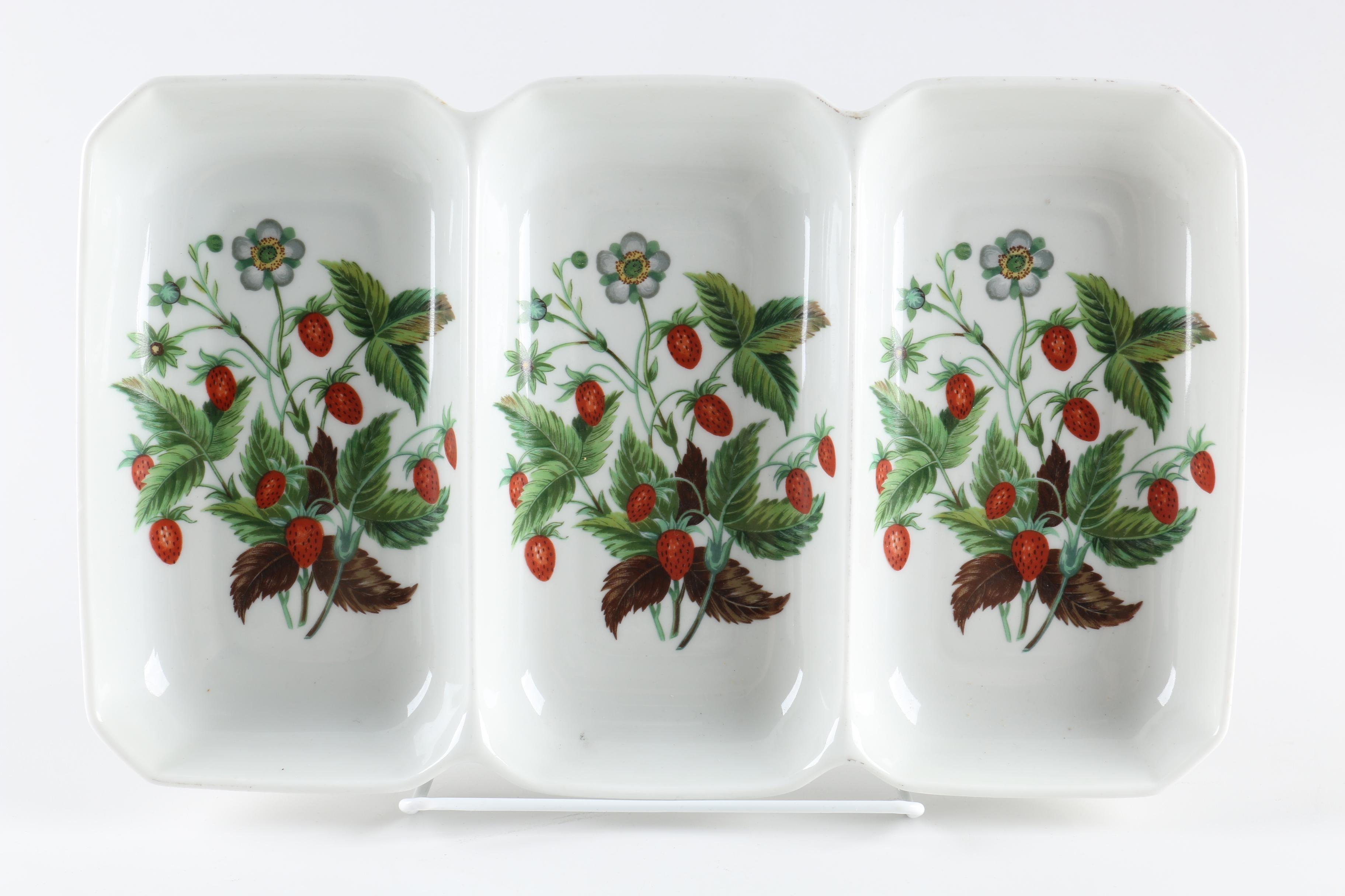 Porcelain Serving Dishes Including Porcelaine De Paris