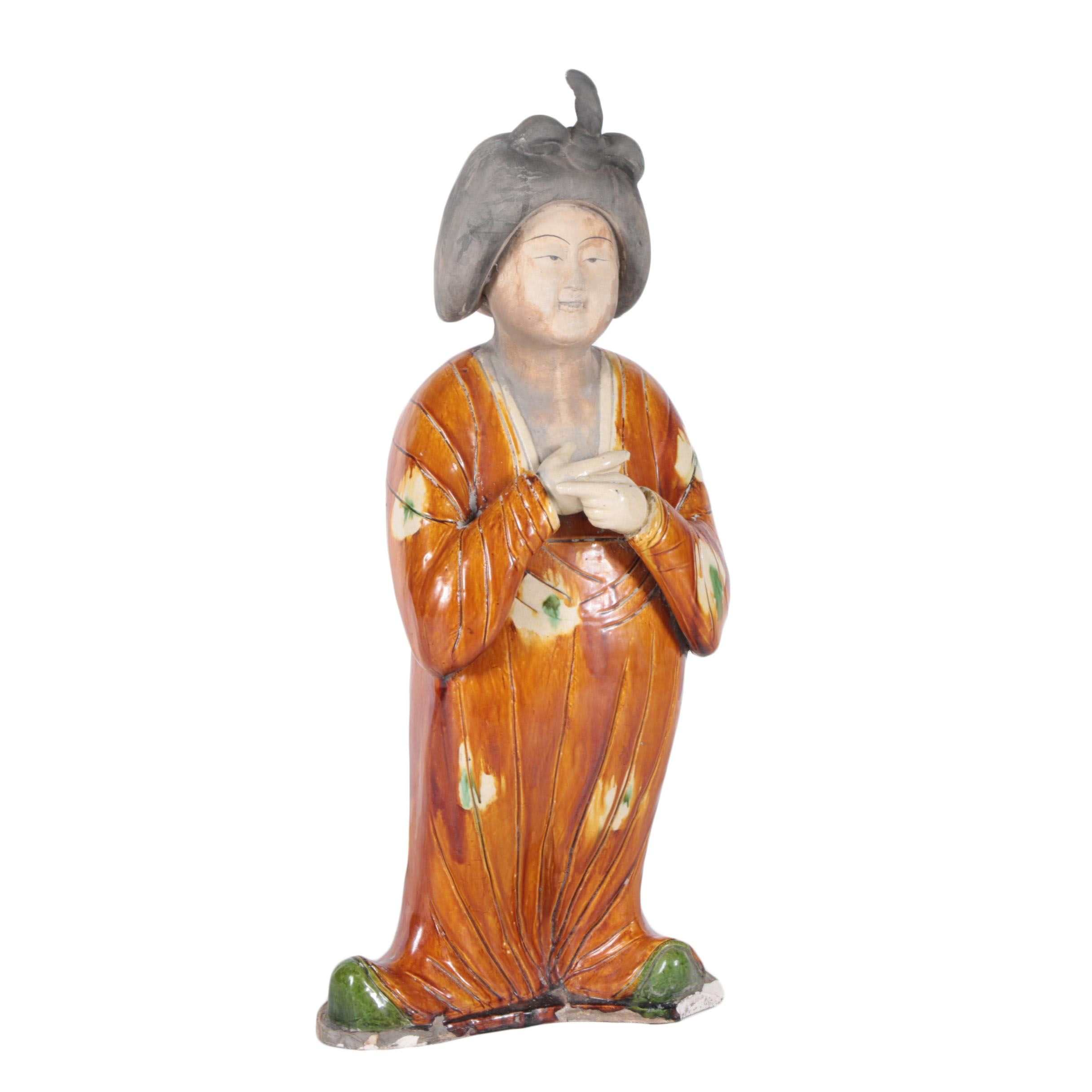 Chinese Tang Dynasty Style Figurine