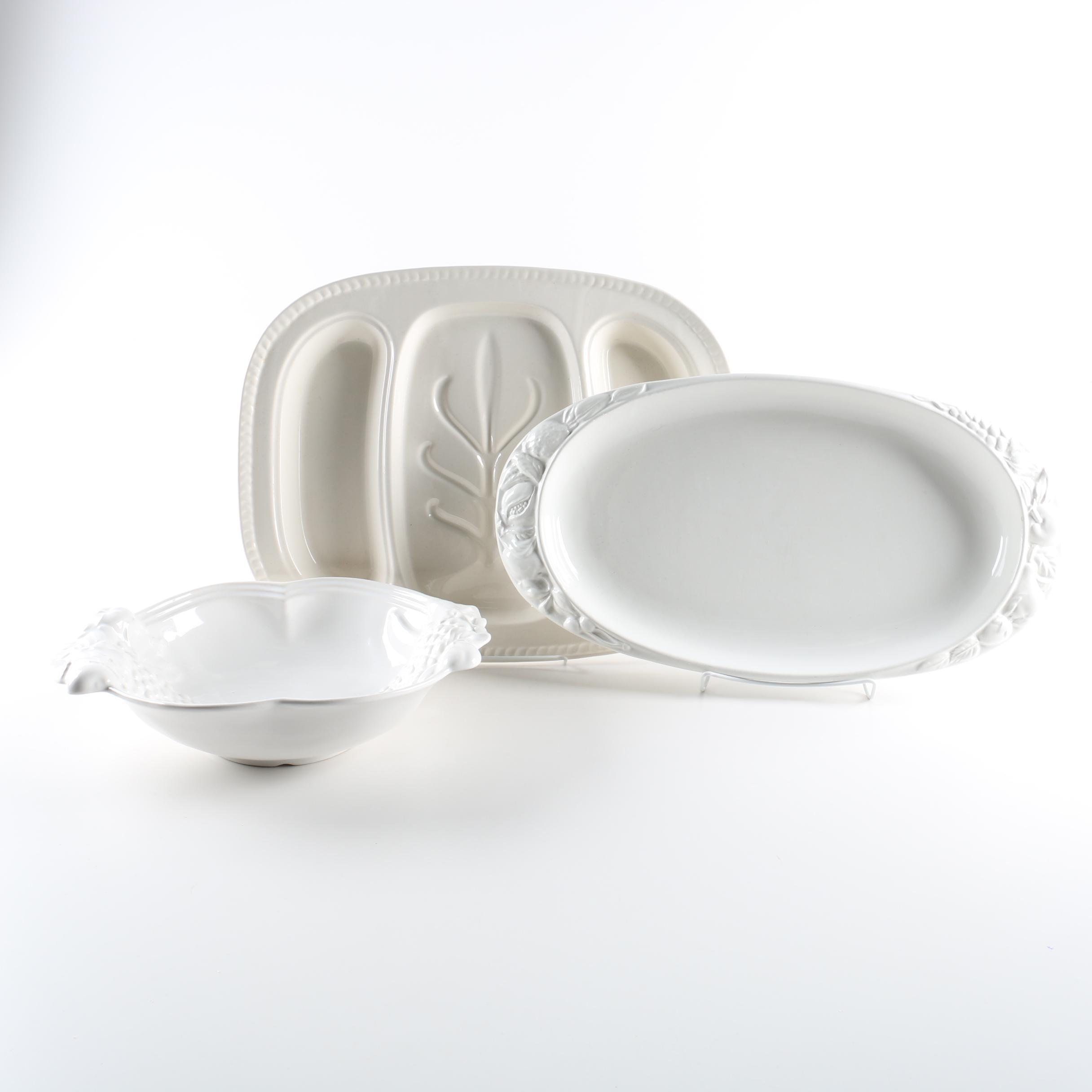 Ceramic Serveware