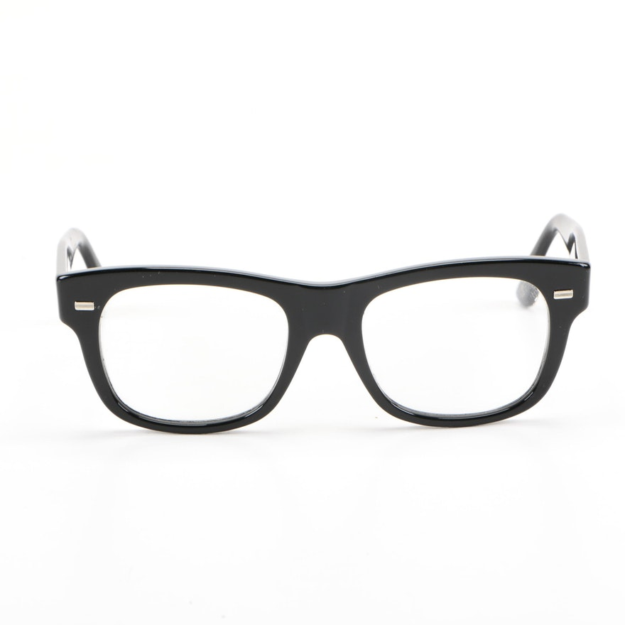 e62d5d92107c Gucci Black Thick Frame Prescription Glasses   EBTH