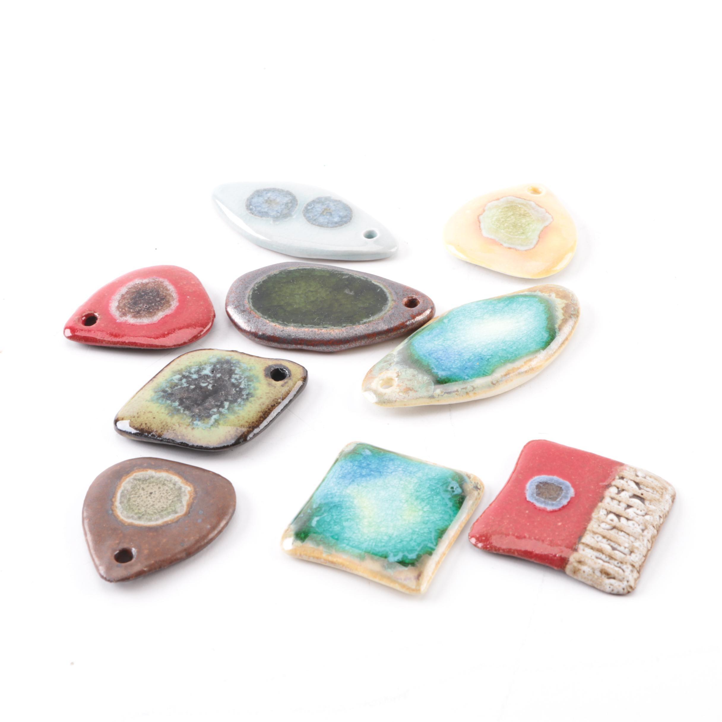 Art Pottery Pendants and Tiles