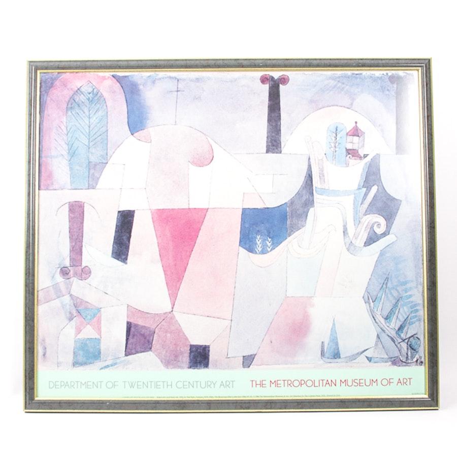 Metropolitan Museum of Art Framed Poster, After Paul Klee
