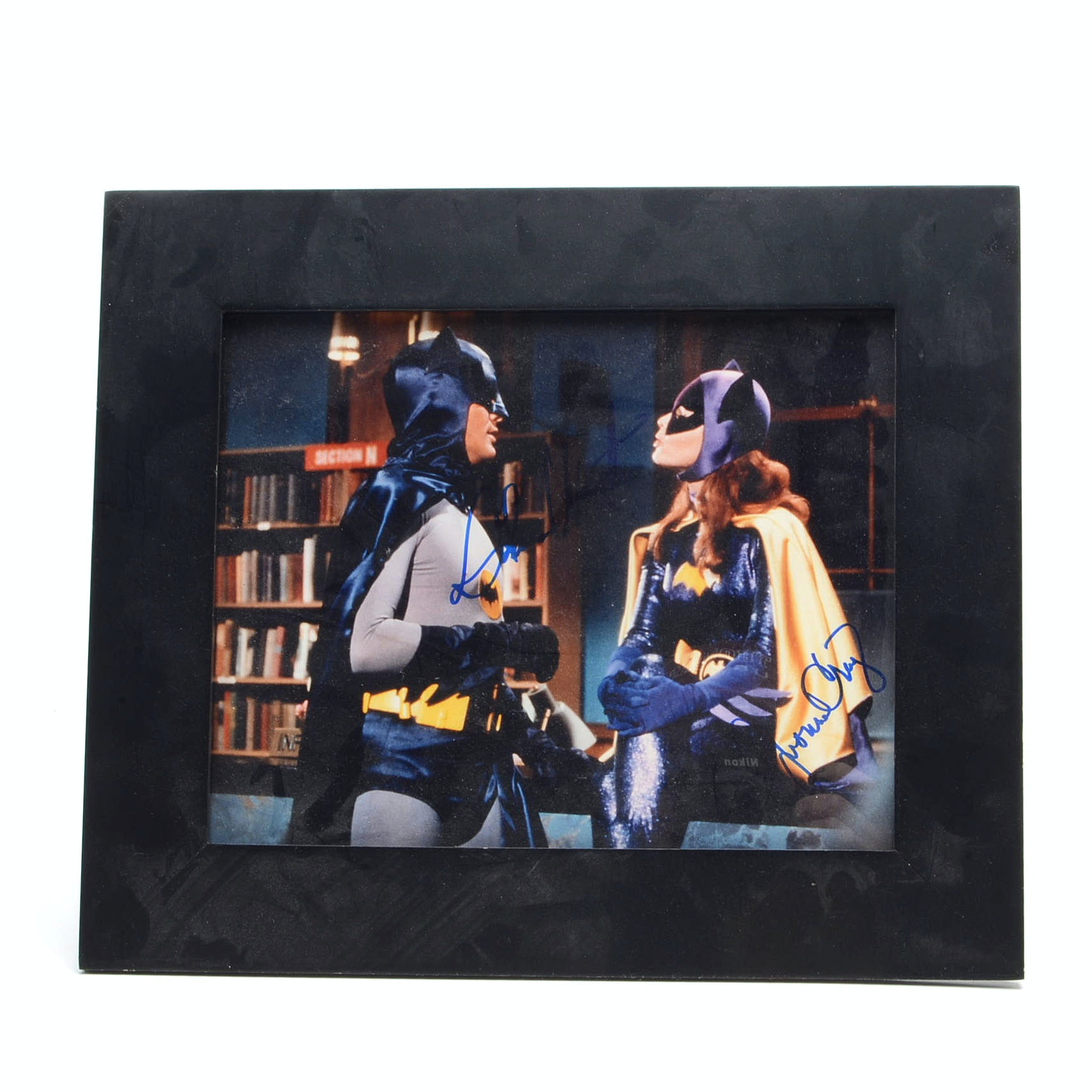 West/Craig Signed Batman Photo  Visual COA