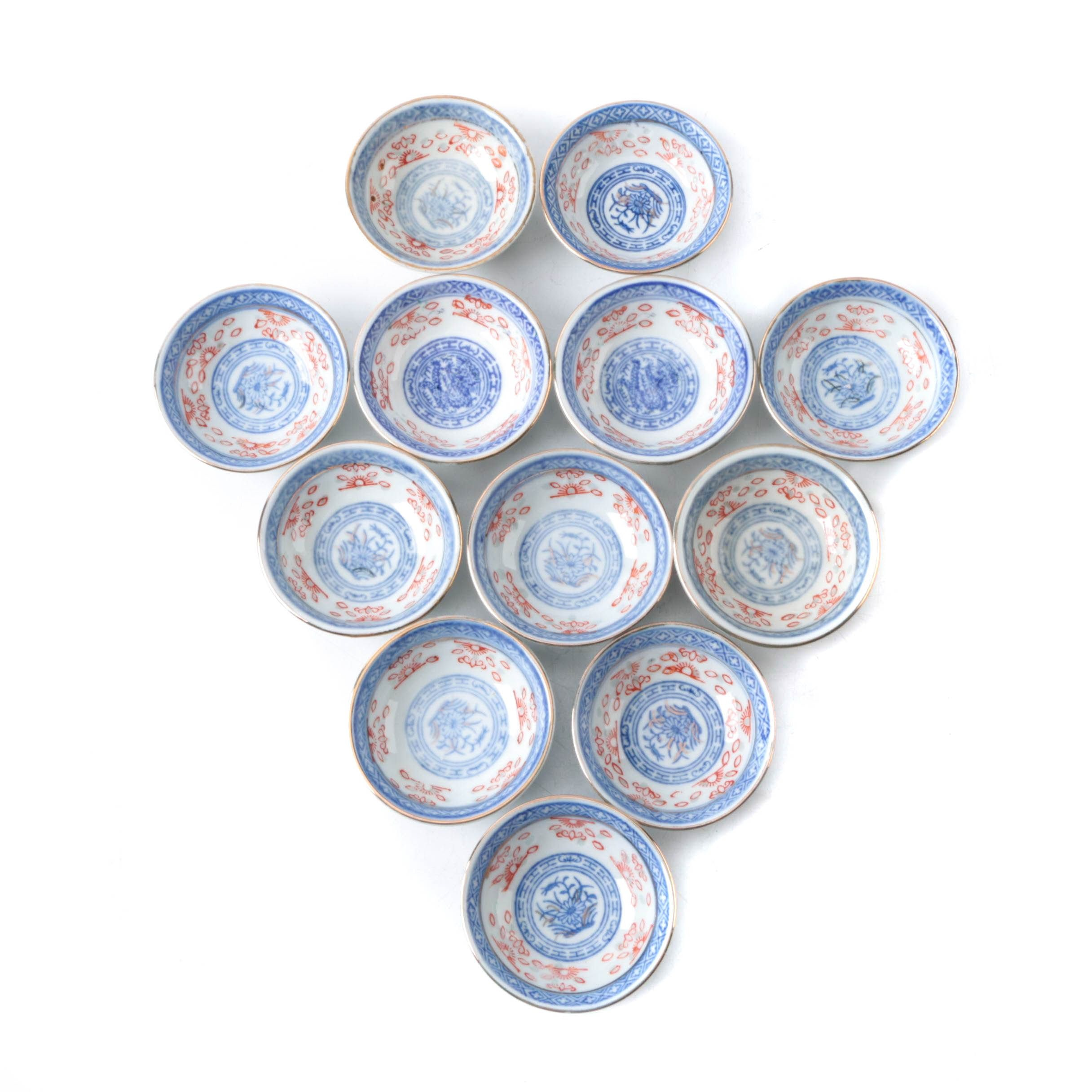 Small Chinese Porcelain Bowls