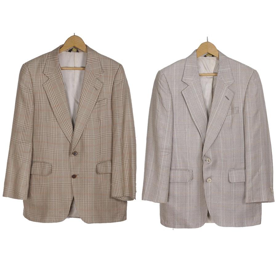 Men's Plaid Sport Coats