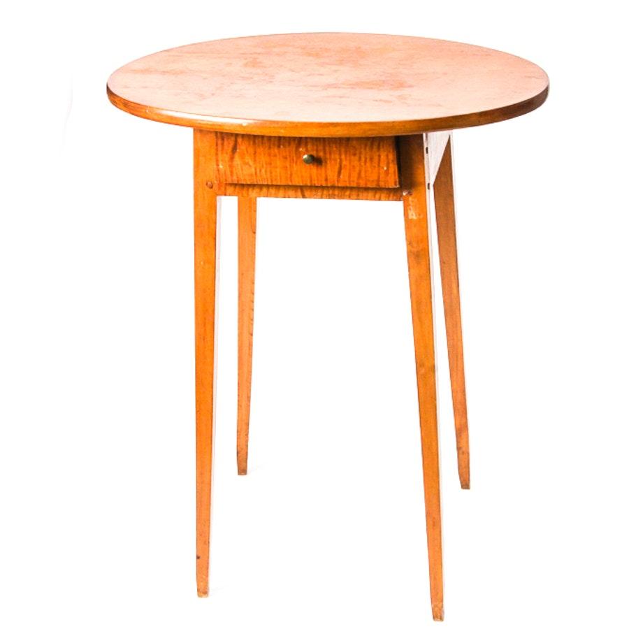 Antique Figured Maple Table