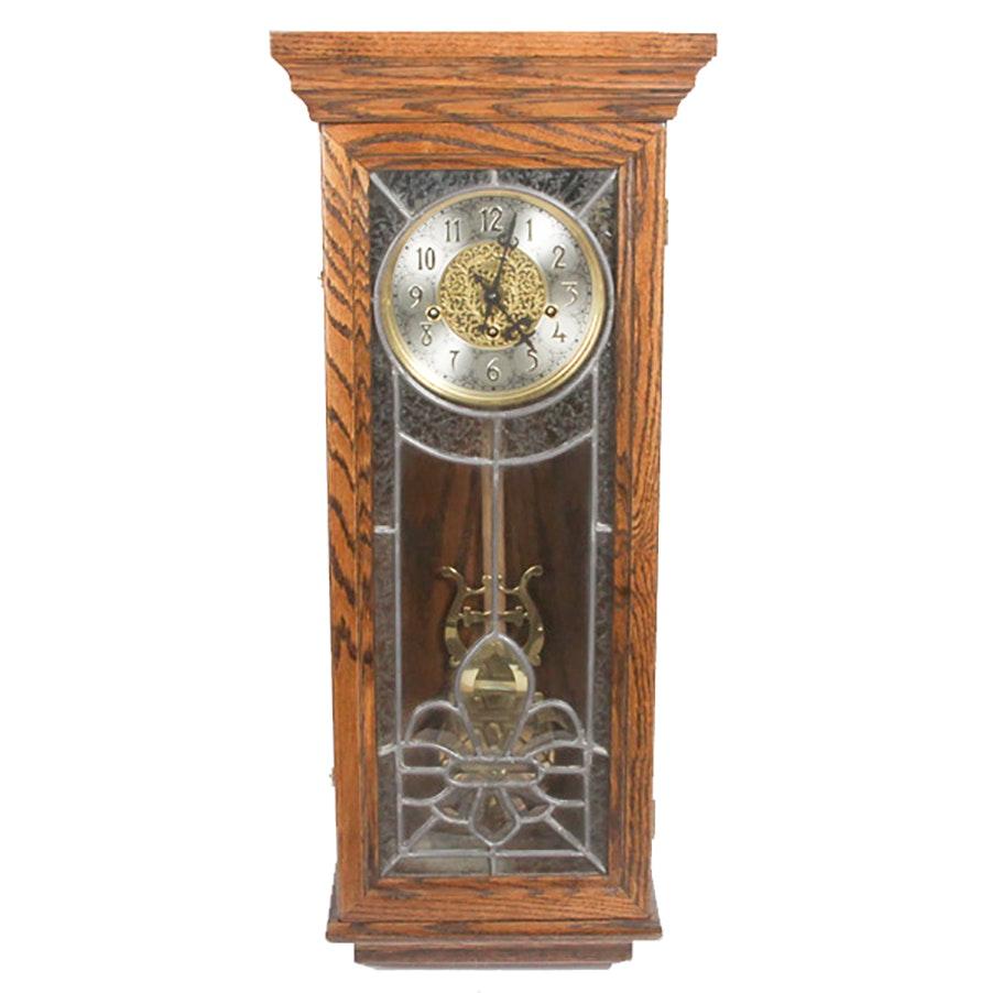 San Francisco Clock Company Wood Pendulum Wall Clock