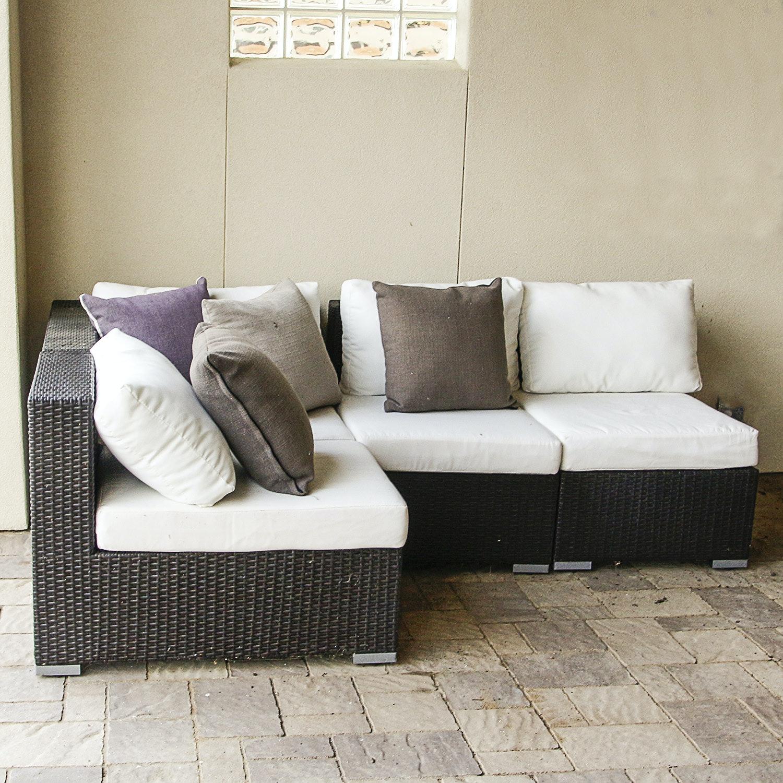Modular Indoor/Outdoor Sectional Sofa