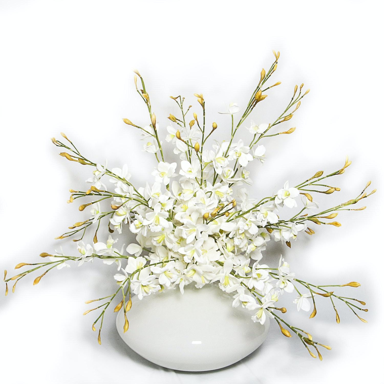 Contemporary Silk Floral Arrangement