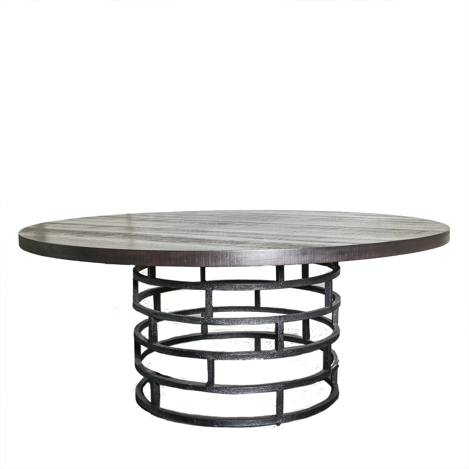 Round Contemporary Dining Table