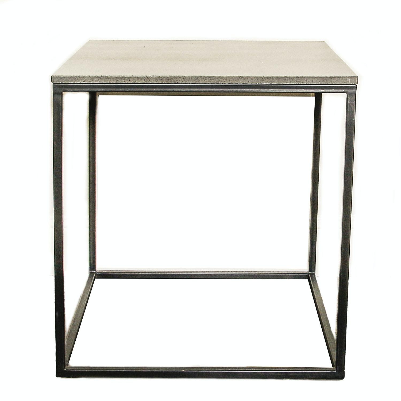 Granite Top Side Table