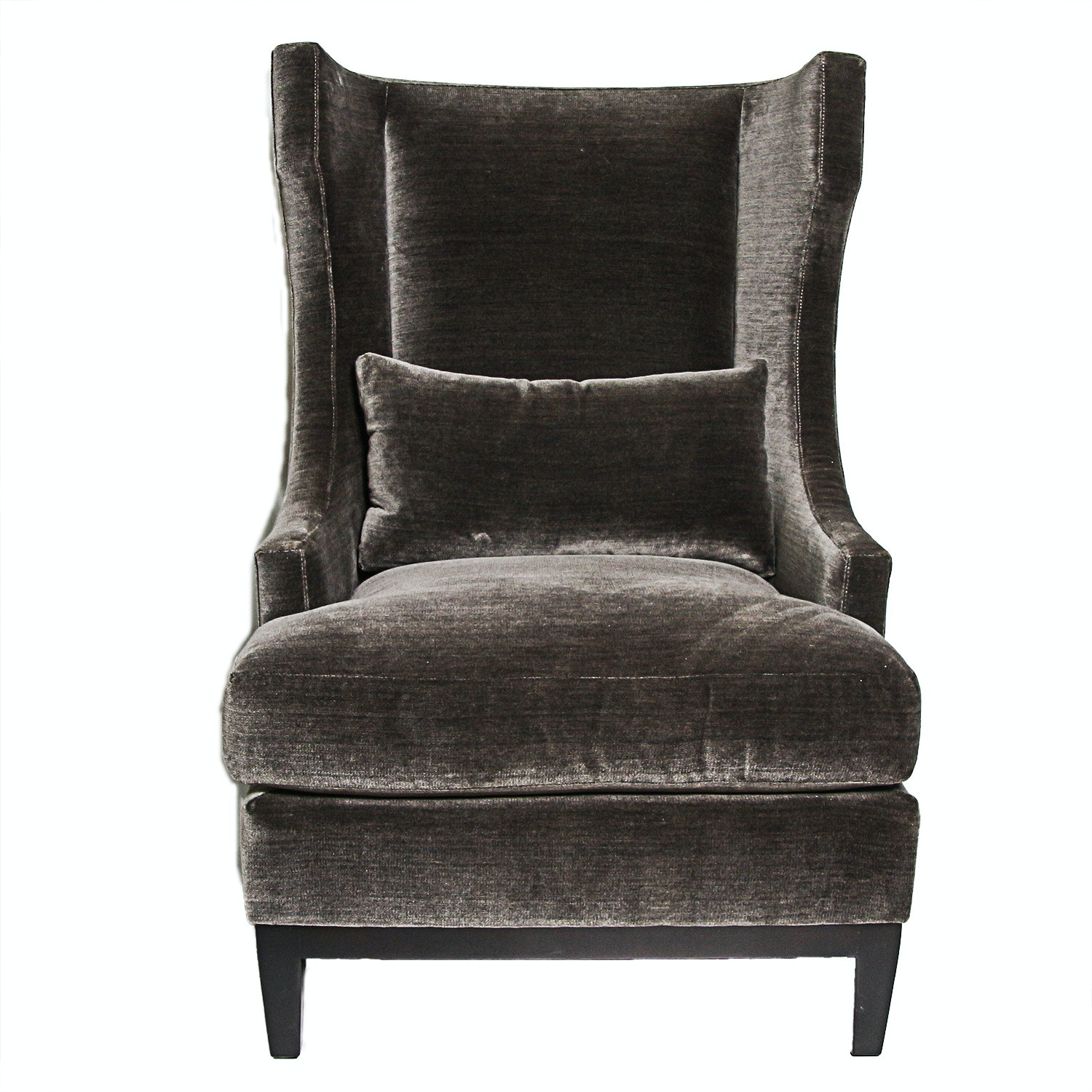 Upholstered Wingback Arm Chair by Bernhardt