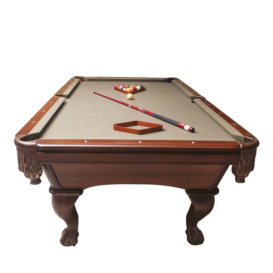 AMF Highland Series Limited Edition Pool Table With Accessories EBTH - Kensington pool table