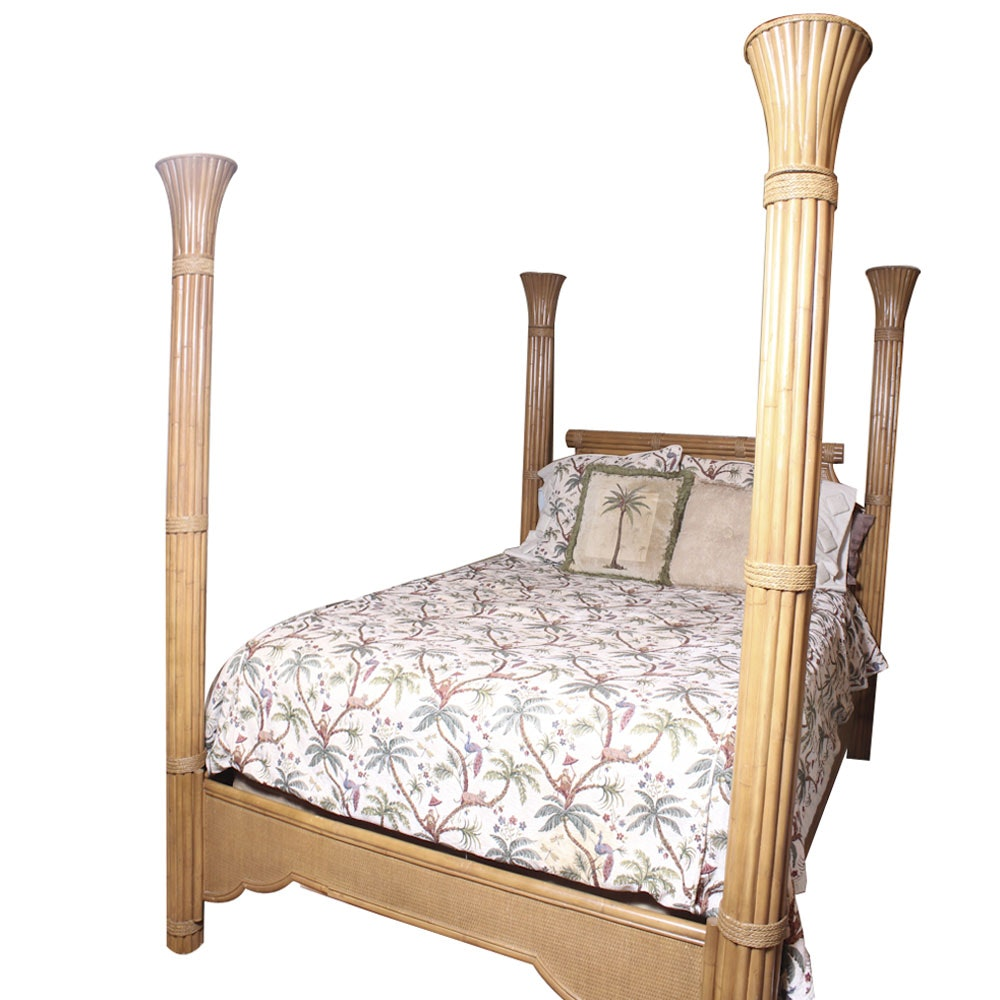 Deco Revival Style Queen Size Bed Frame