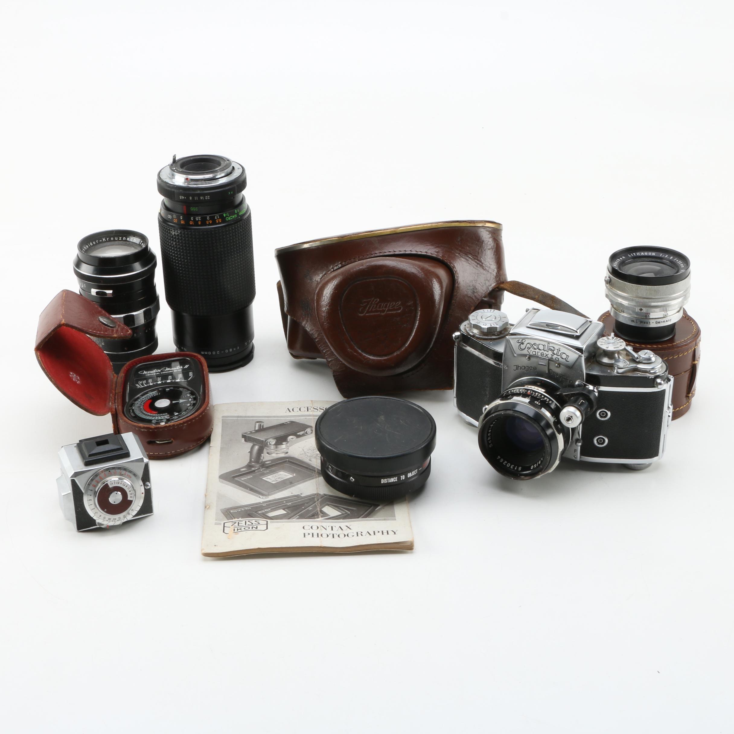 Exakta Varex II A Camera and Accessories