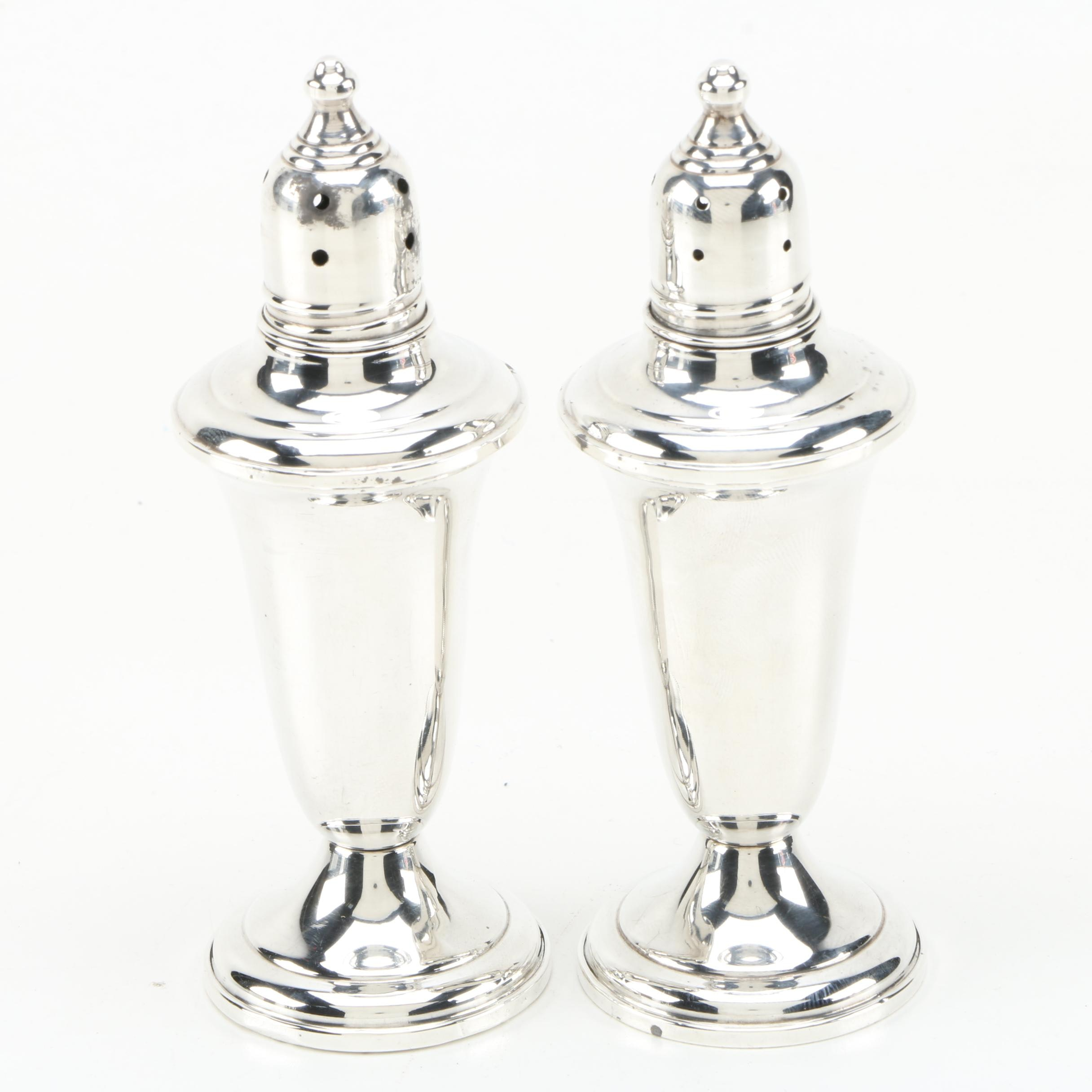 Empire Silver Co. Weighted Sterling Salt and Pepper Shakers