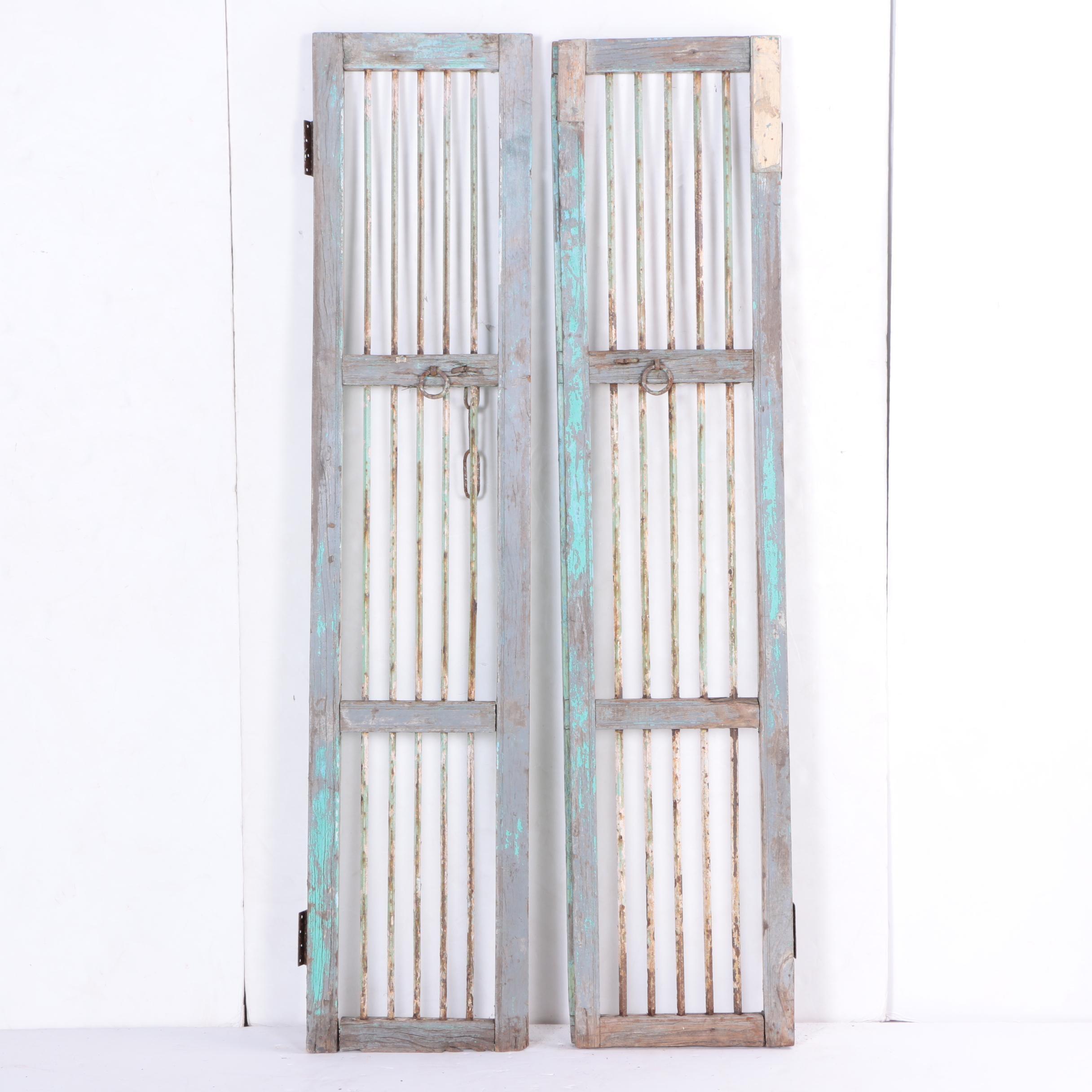 Pair of Rustic Doors