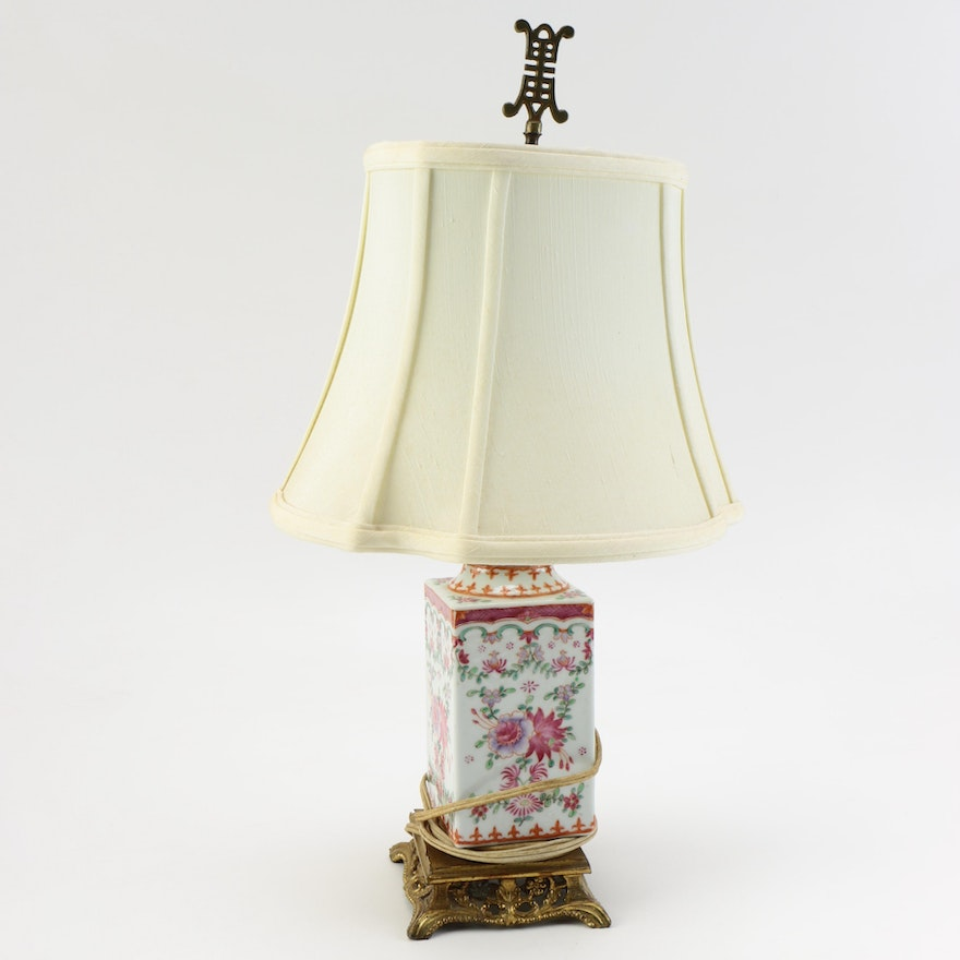 Asian Themed Table Lamp