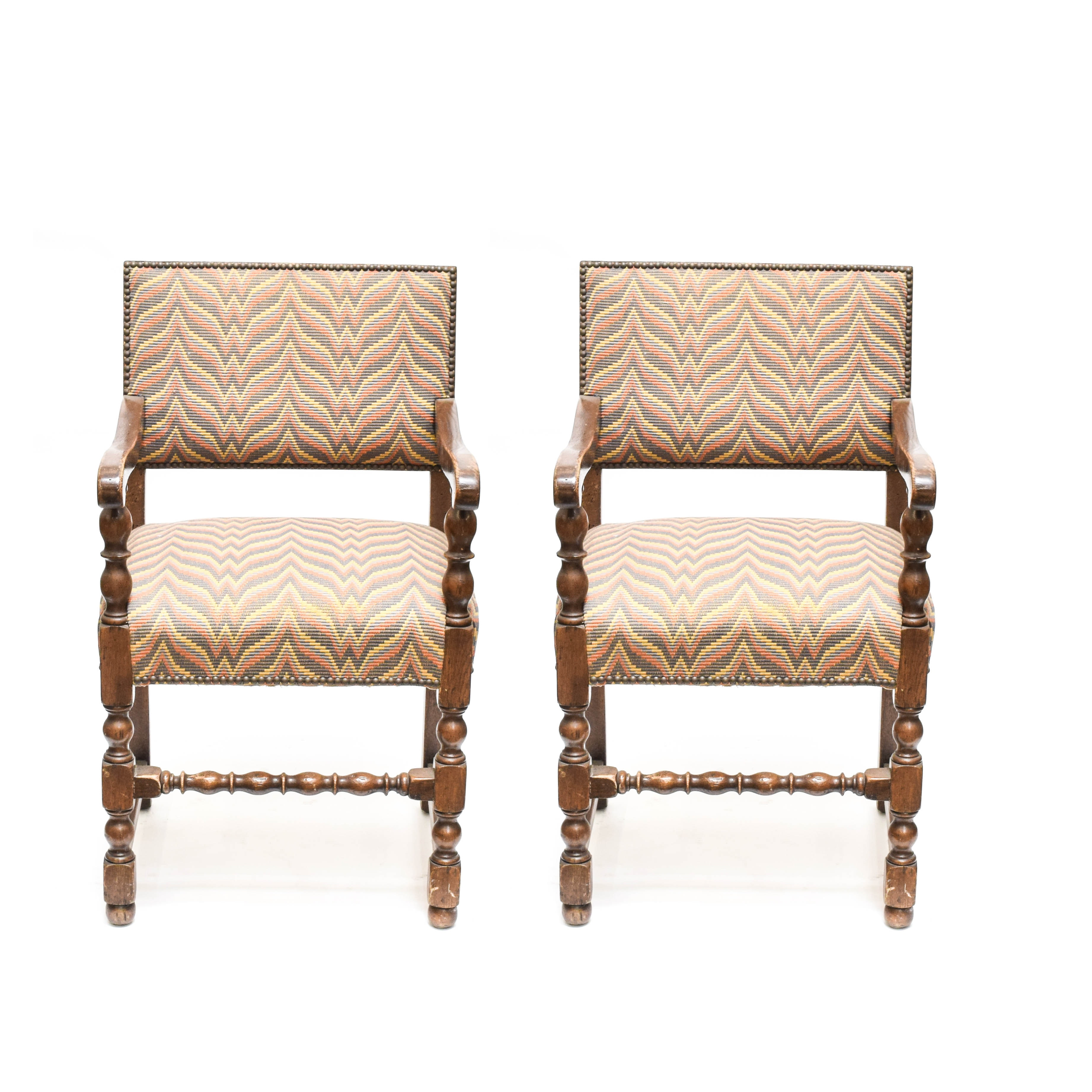 Vintage William and Mary Style Chairs