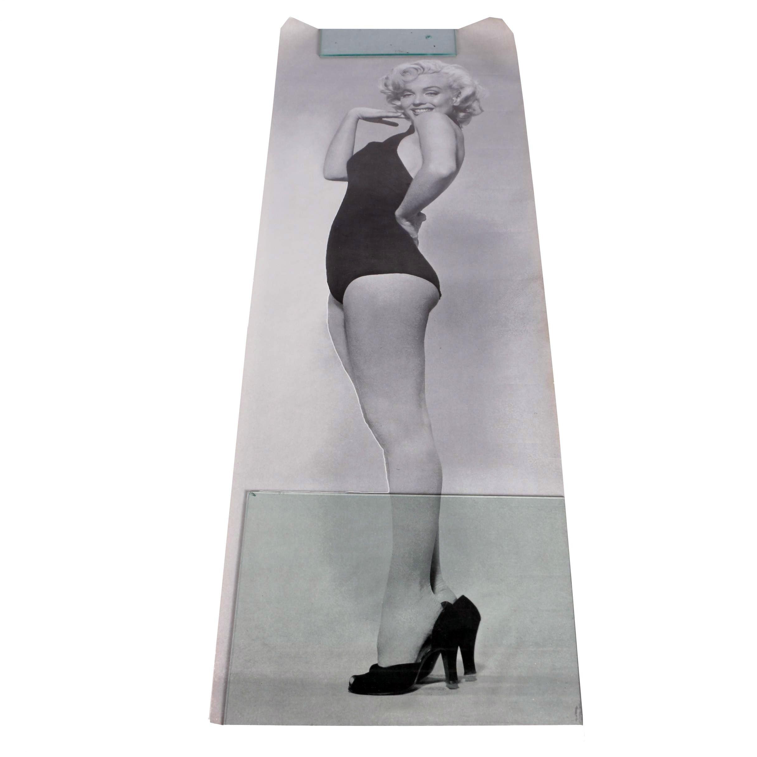 Black and White Marilyn Monroe Poster
