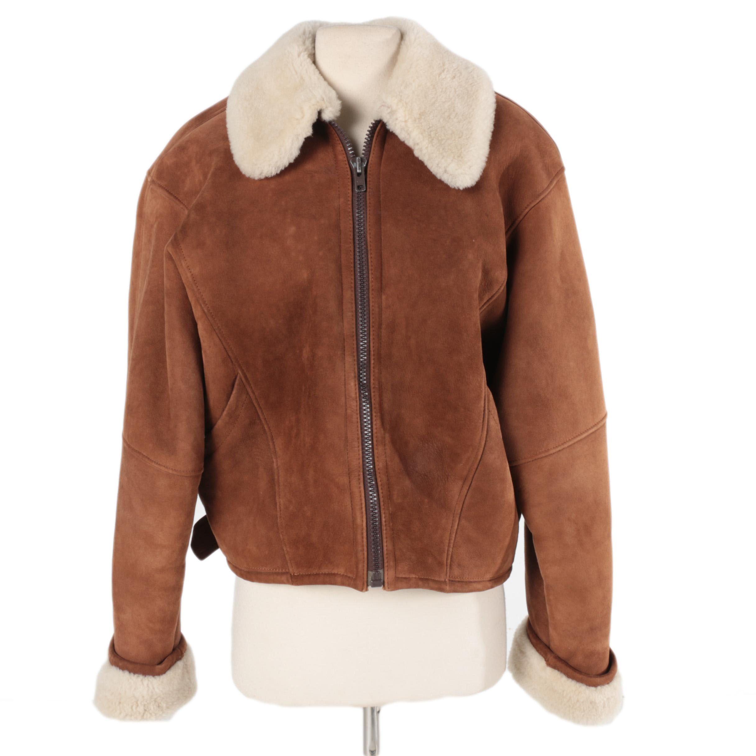Women's Geoffrey Beene Shearling Jacket
