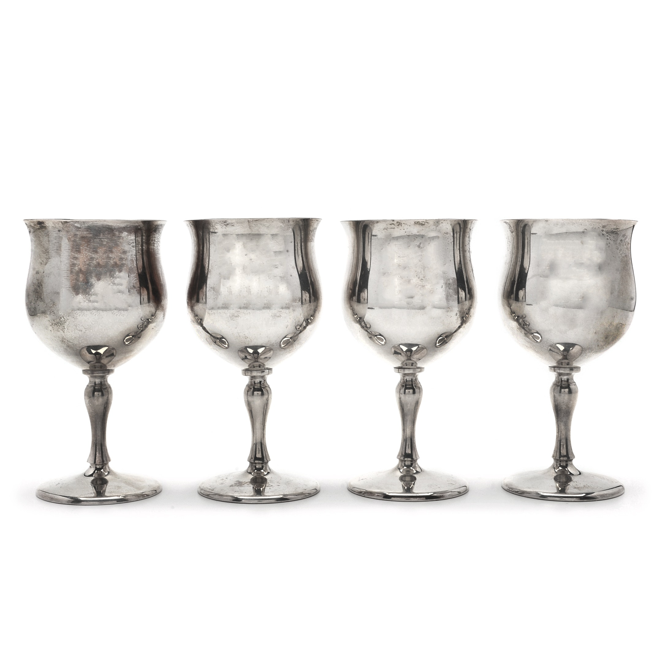Reed & Barton Sterling Silver Goblets