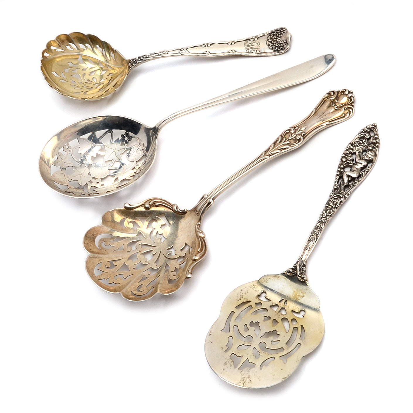 Sterling Silver Serving Utensils with Dominick & Haff