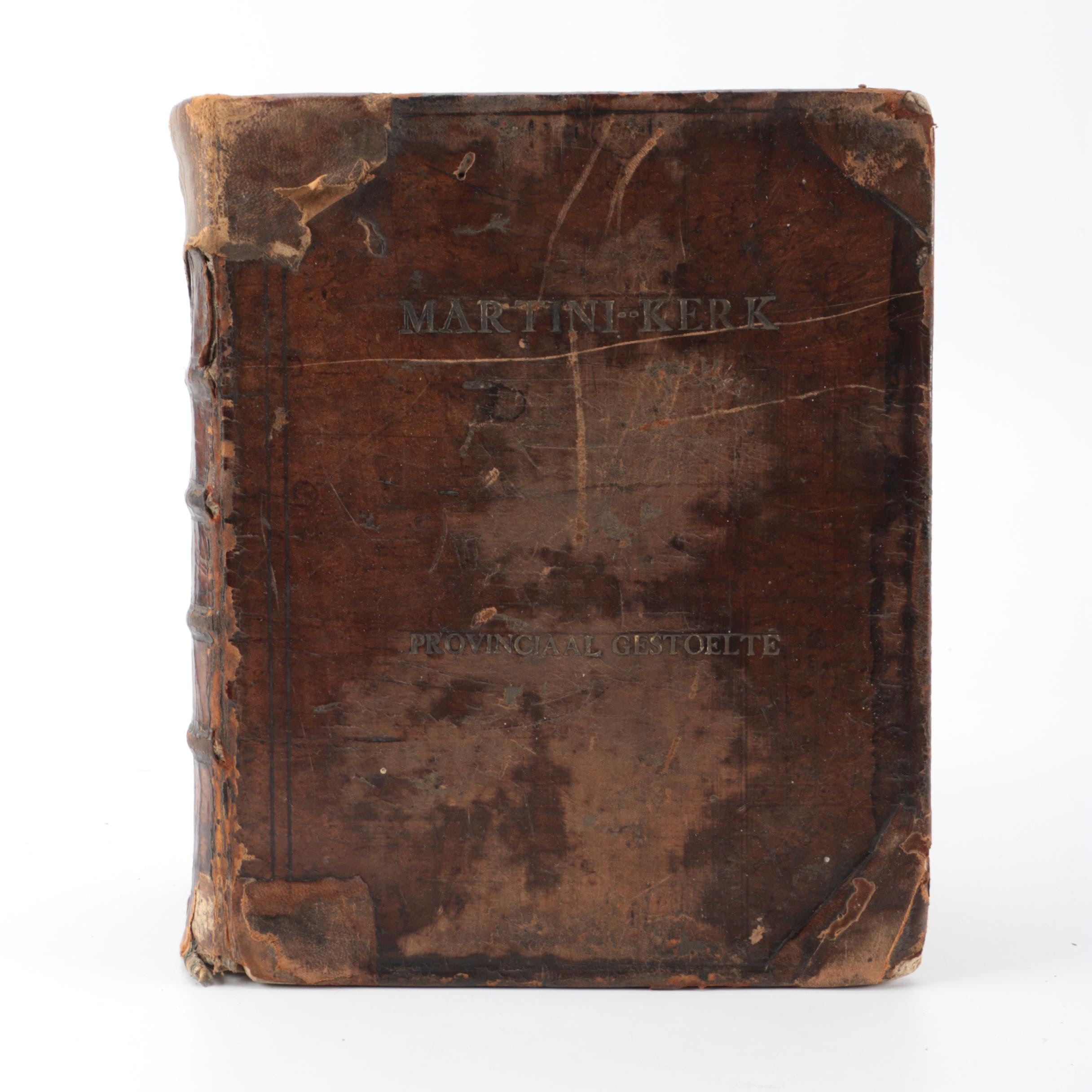 Antique Dutch Bible and Hymnal