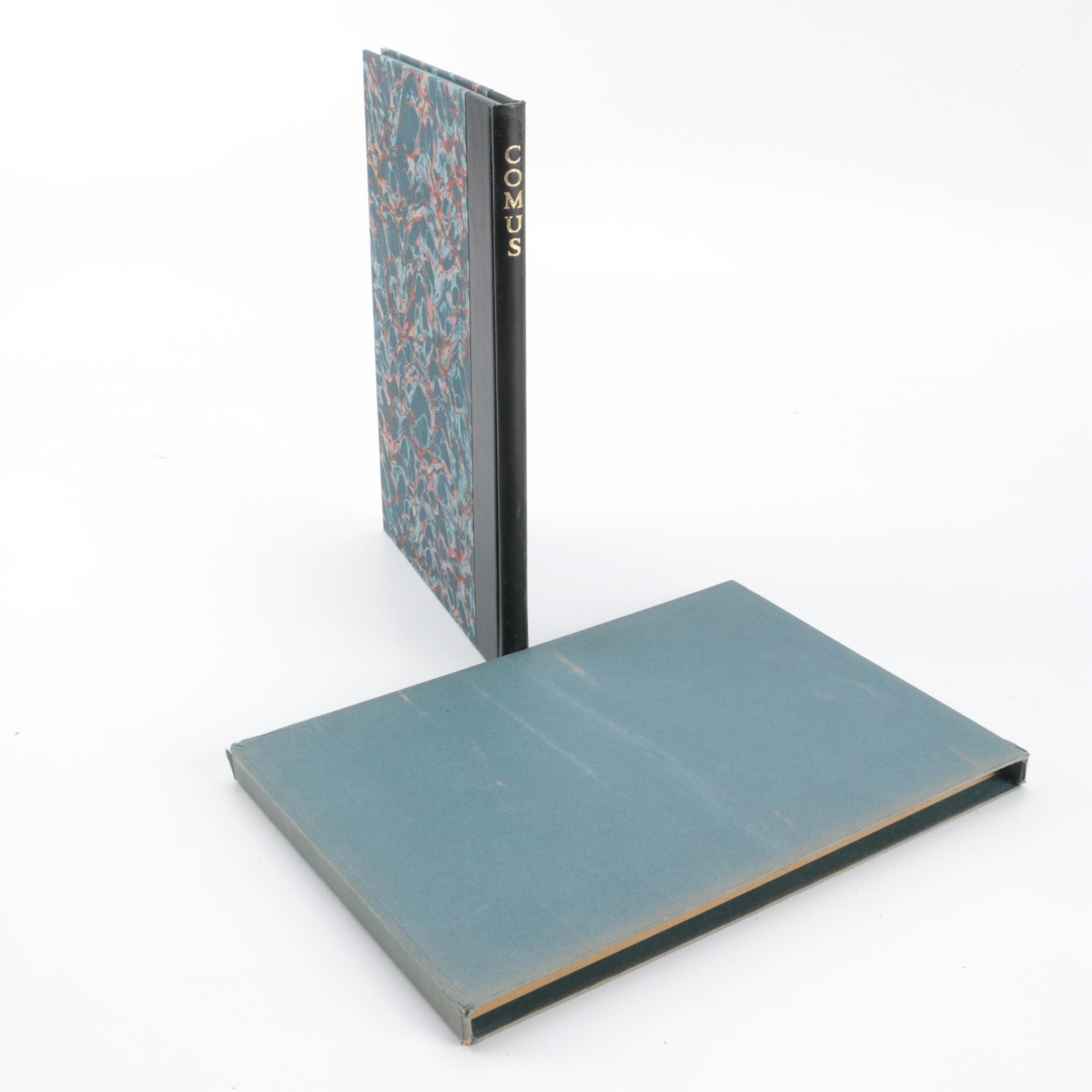 "1955 Heritage Press ""The Masque of Comus"" by John Milton"