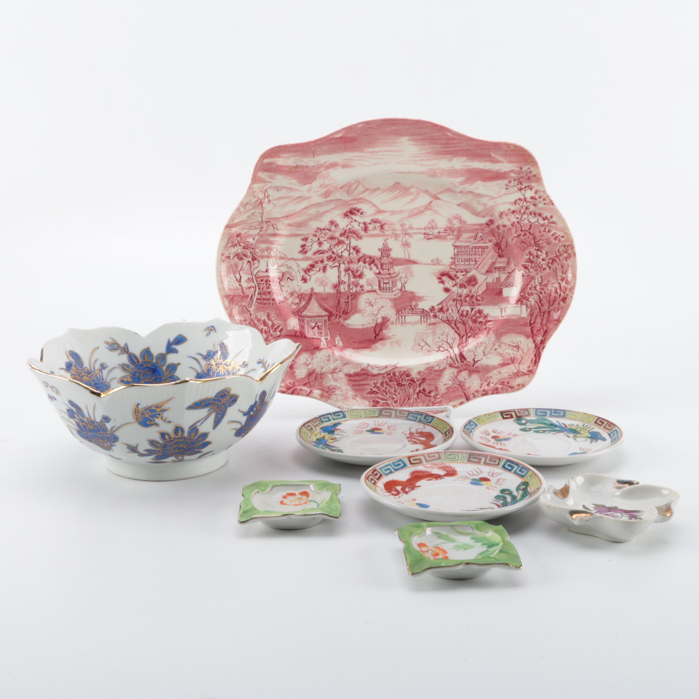 Decorative Porcelain and Ceramic Décor
