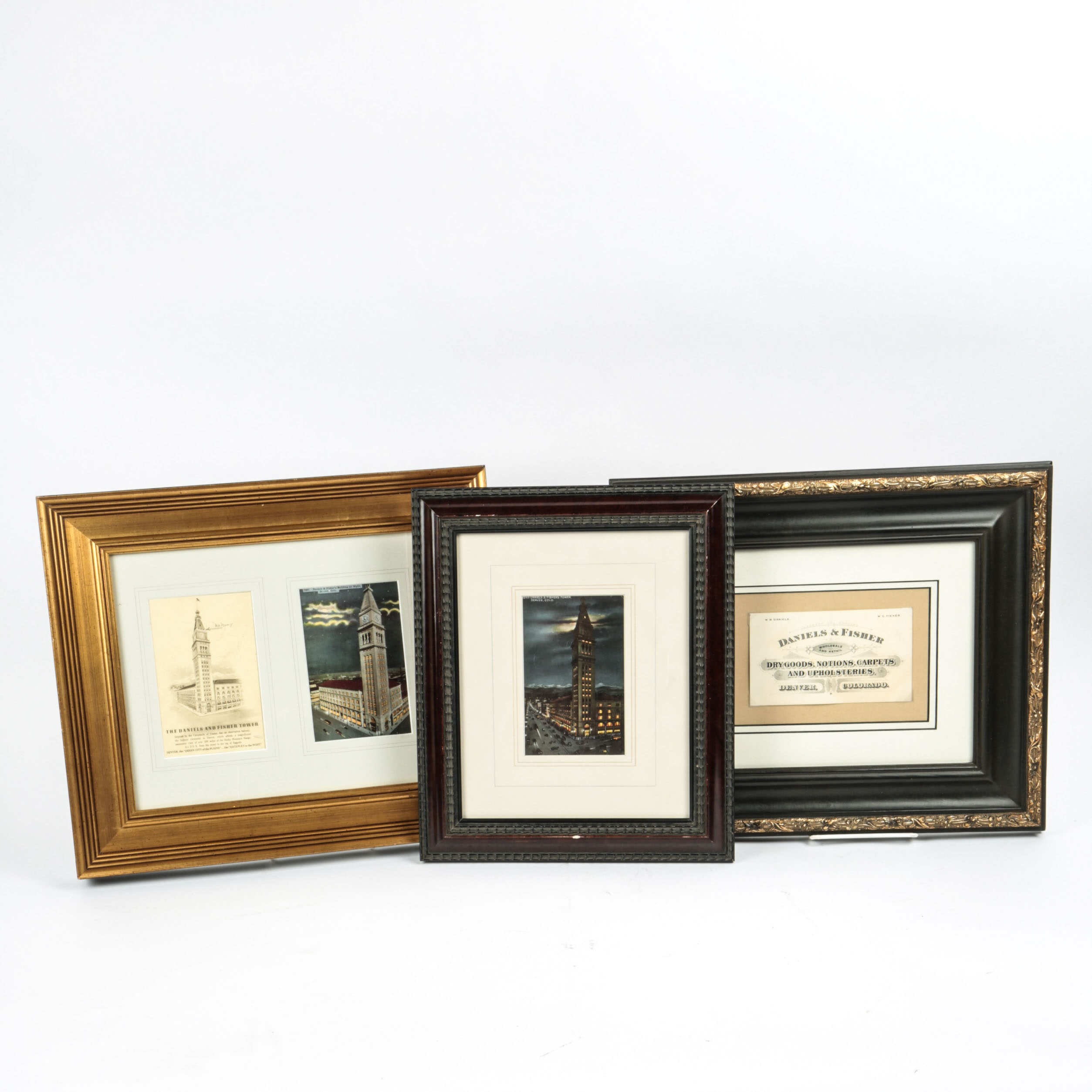 Collection of Prints Depicting the Daniels & Fisher Tower in Denver