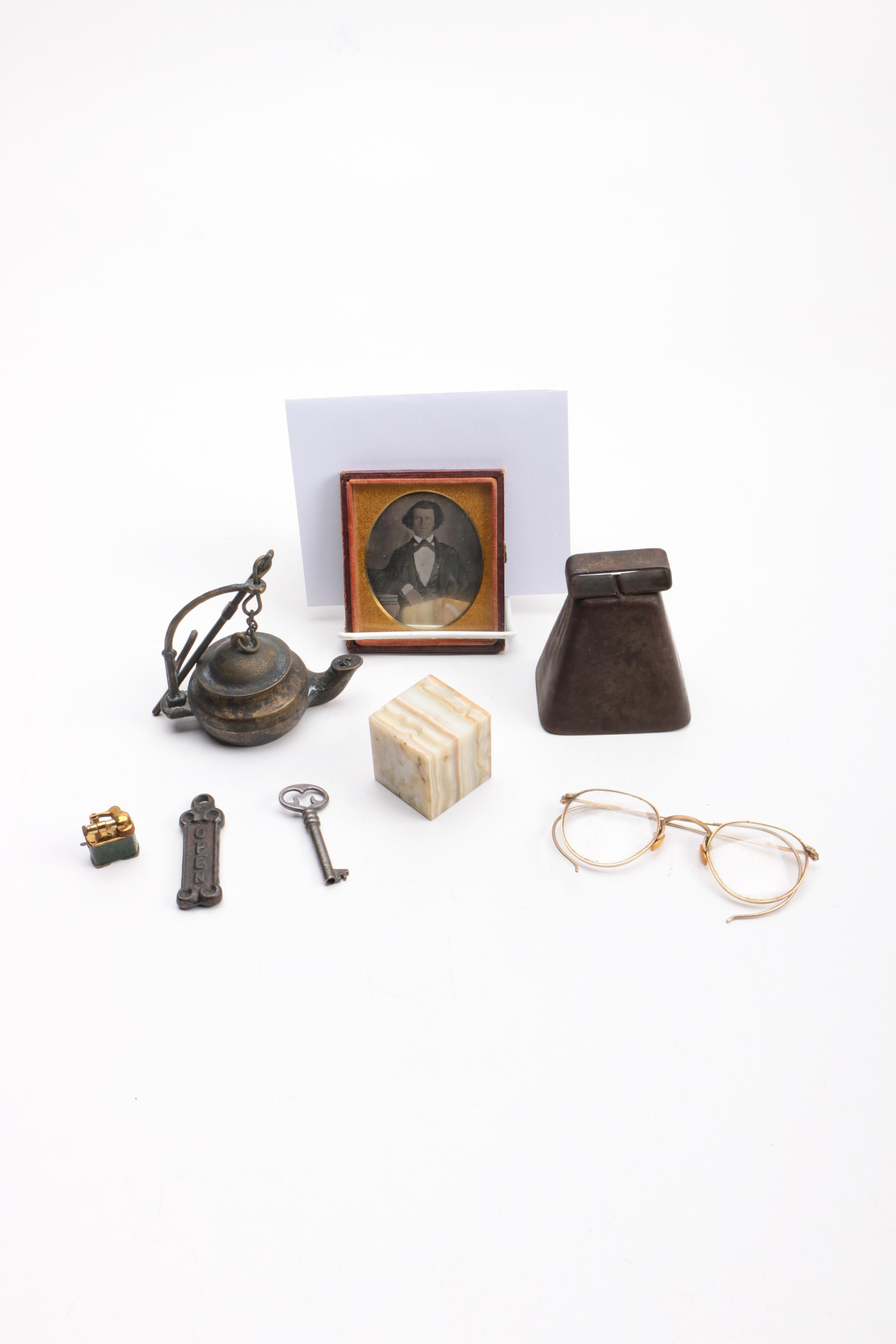 Metal and Stone Collectibles