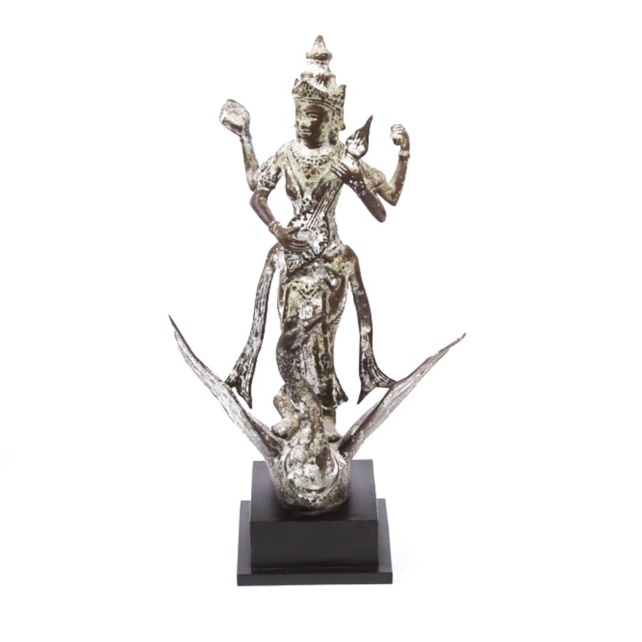 Indonesian Cast Metal Figurine