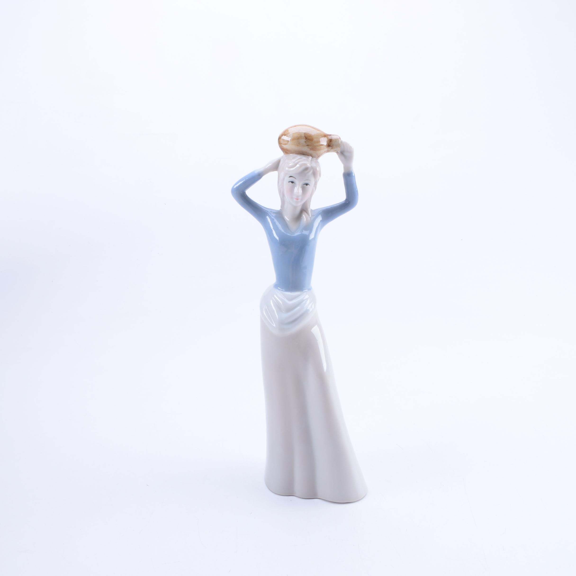 Porcelain Woman Figurine
