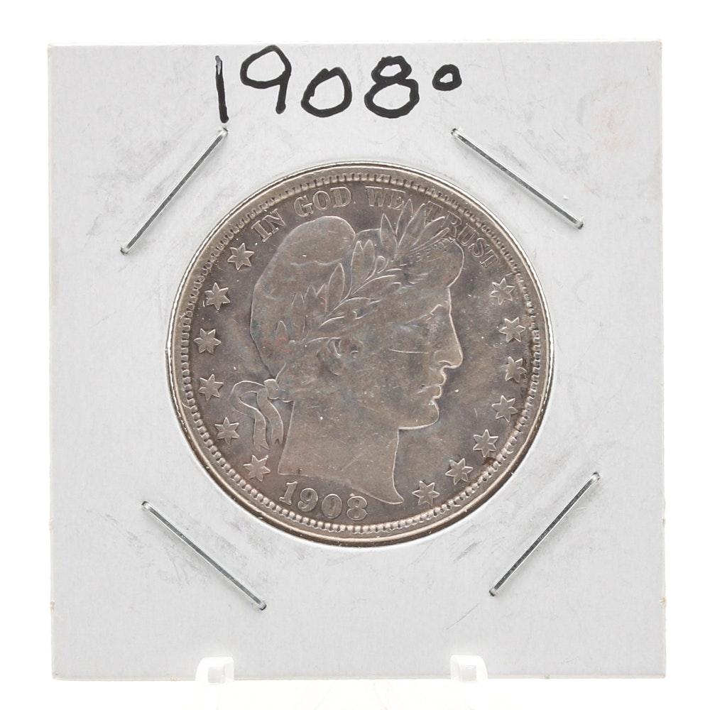 1908 O Liberty Head 'Barber' Half-Dollar