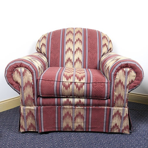 Upholstered Arm Chair by Harris-Scott
