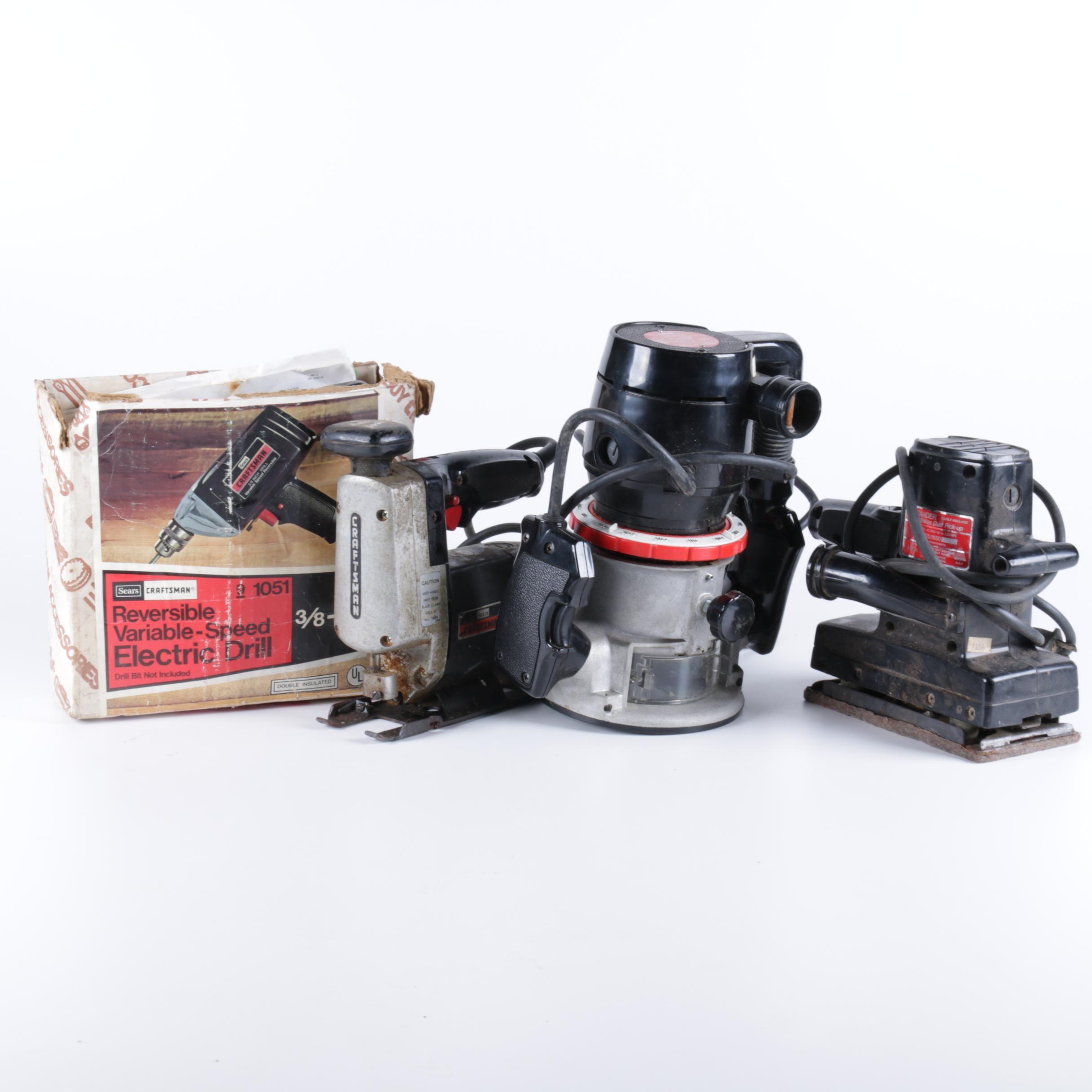 Sears Craftsman Power Tool Assortment
